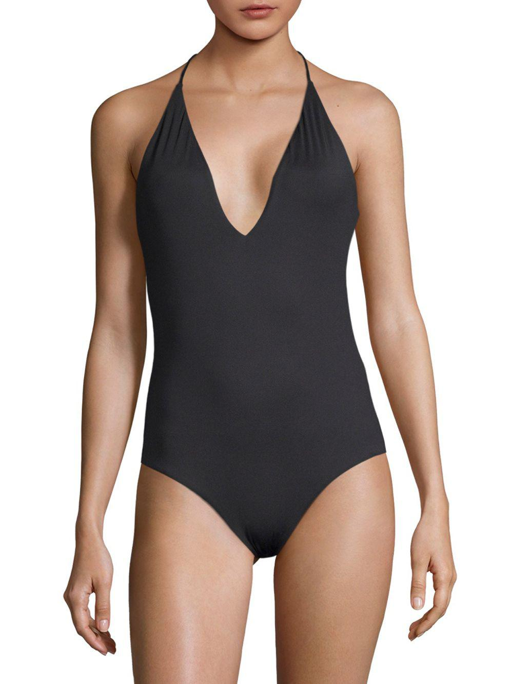 Nina Lemonade one-piece - Black Onia Release Dates For Sale Clearance 2018 WvRCt