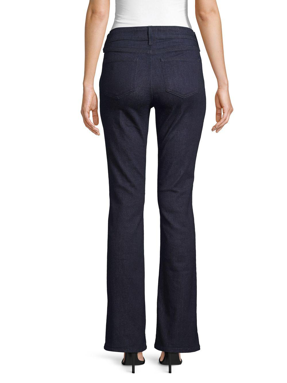 c759dbdfcd3 NYDJ - Blue Billie Mini Bootcut Jeans - Lyst. View fullscreen