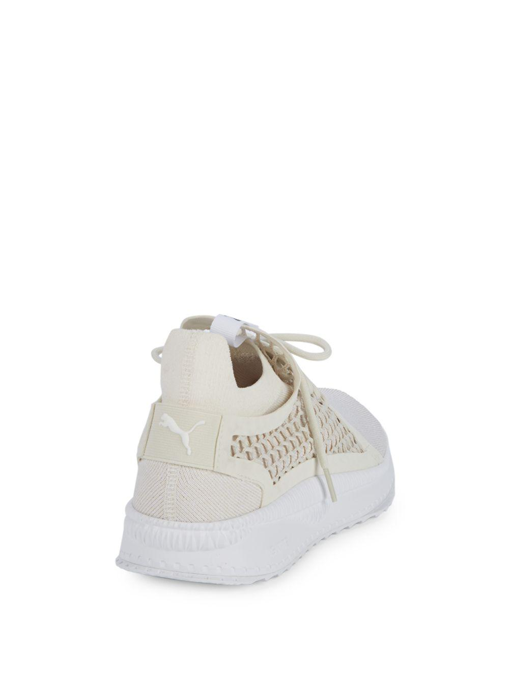 05089577f62 Lyst - PUMA Perforated Lace-up Sneakers in White