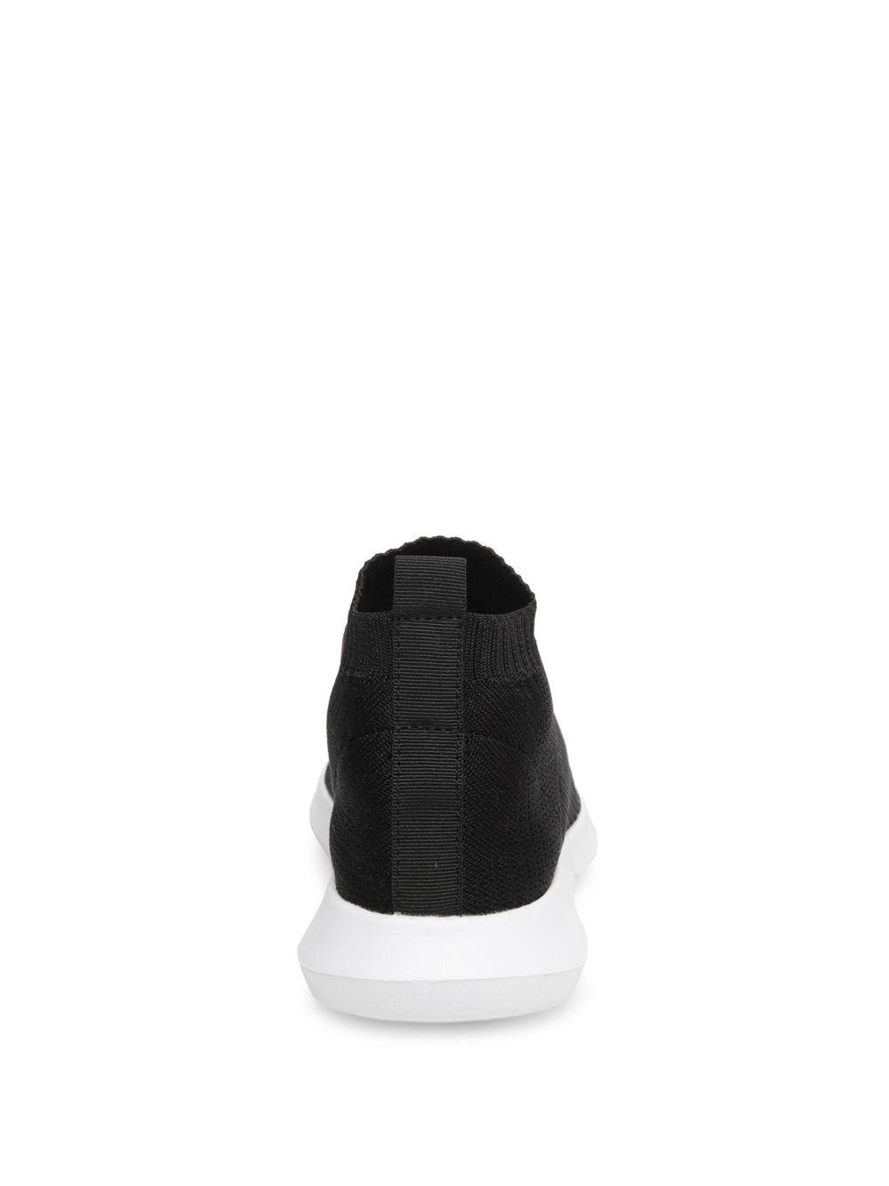 94daa4eff5e Lyst - Steven by Steve Madden Fabs Sneaker in Black - Save 61%
