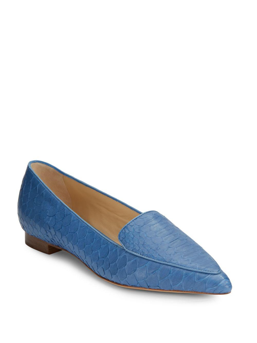 Alexandre Birman Suede Round-Toe Flats outlet countdown package cheap wholesale price zmlSn