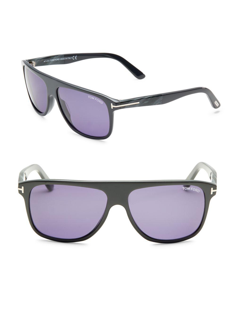 4e24ba79f9 Lyst - Oliver Peoples Dore 51mm Cat Eye Sunglasses in Black for Men