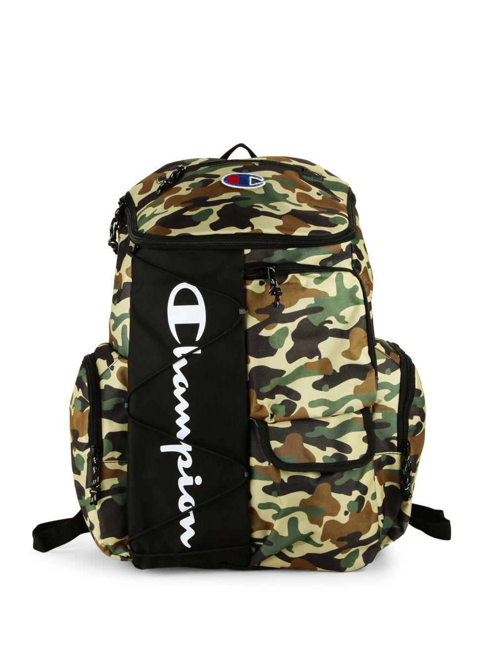 7ab3220894 Champion Forever Champ Utility Backpack in Green - Lyst