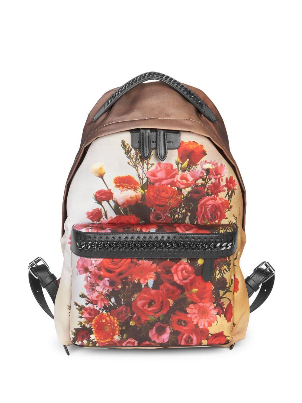 26f901635c Stella McCartney Floral Print Backpack - Save 40% - Lyst