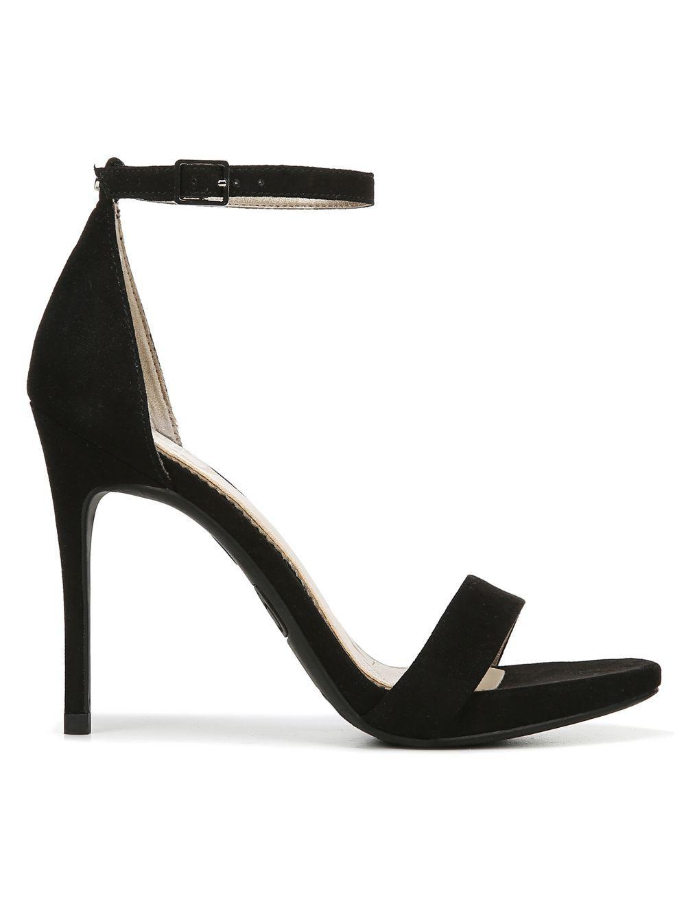 30c9f9e52c3e4 Circus by Sam Edelman. Women s Black Angela Ankle-strap Stiletto Sandals