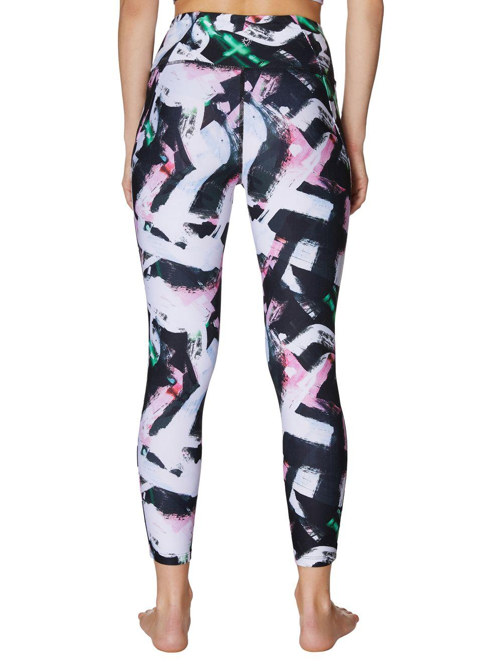 979524d49dbe0 Betsey Johnson Printed High-rise 7/8 Leggings in Black - Save 31% - Lyst