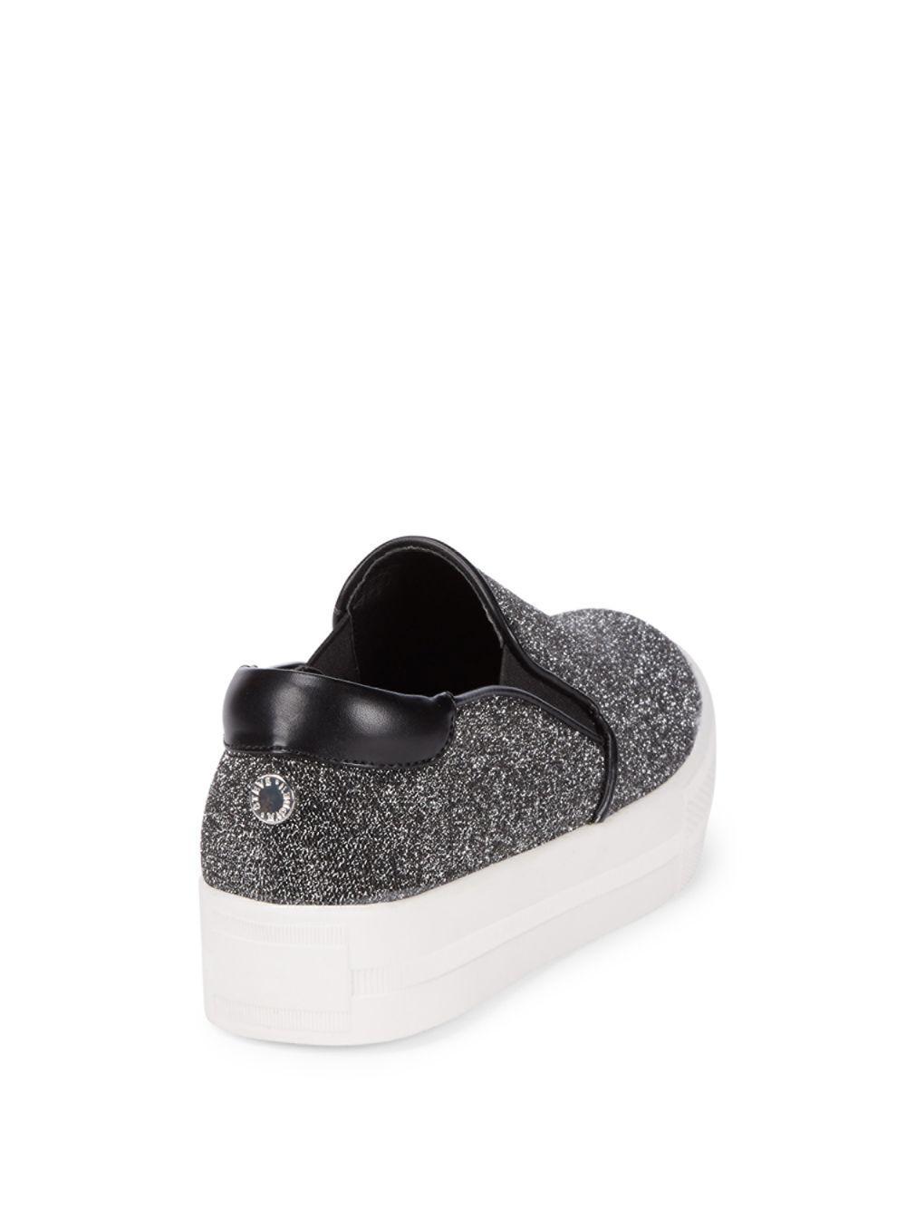 c91cd9ba04b Lyst - Steve Madden Glimmy Slip On Sneakers - Save 23%