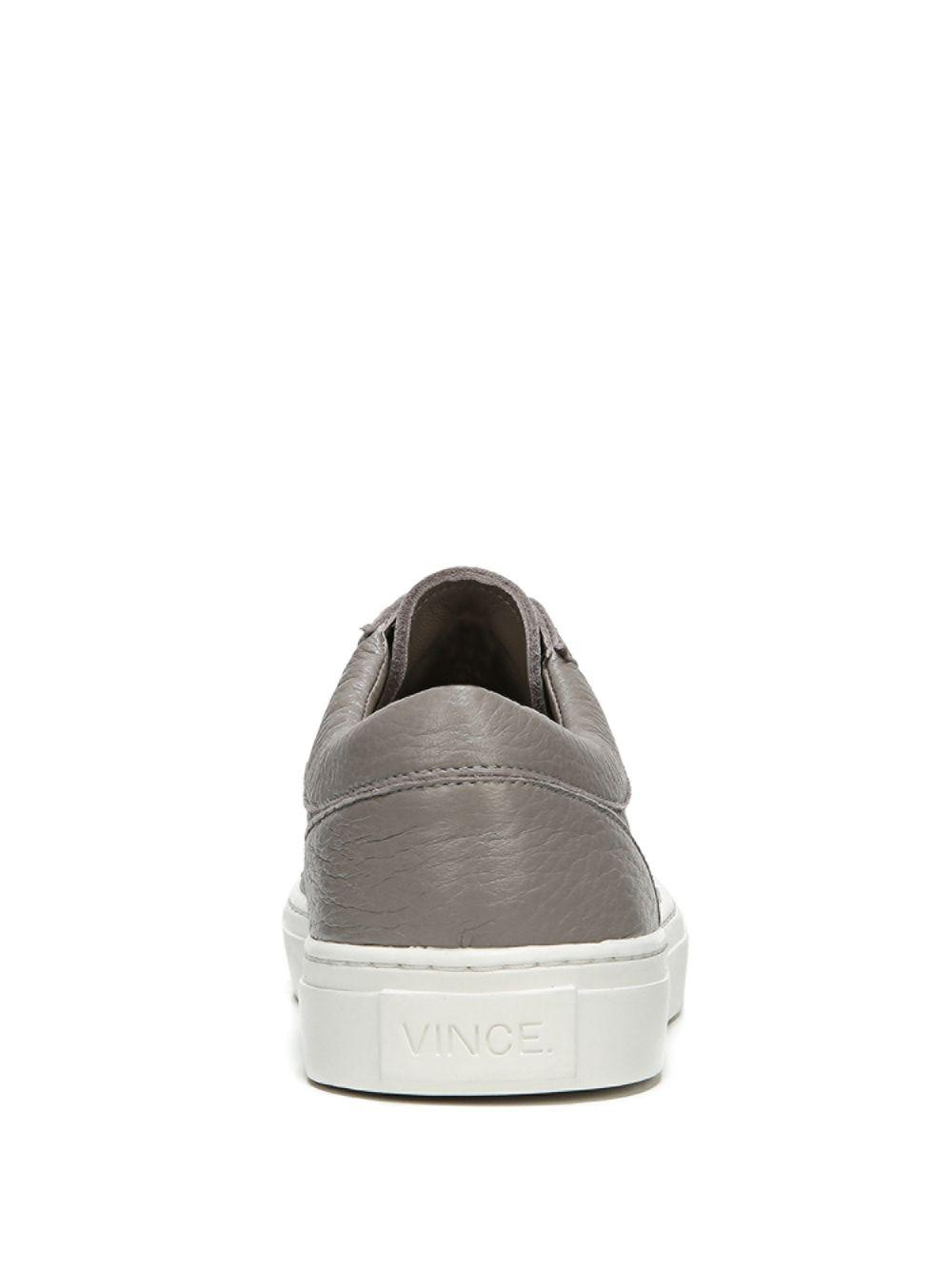 99fab1813c93 Lyst - Vince Afton-3 Leather Low-top Sneakers in Gray - Save 25%