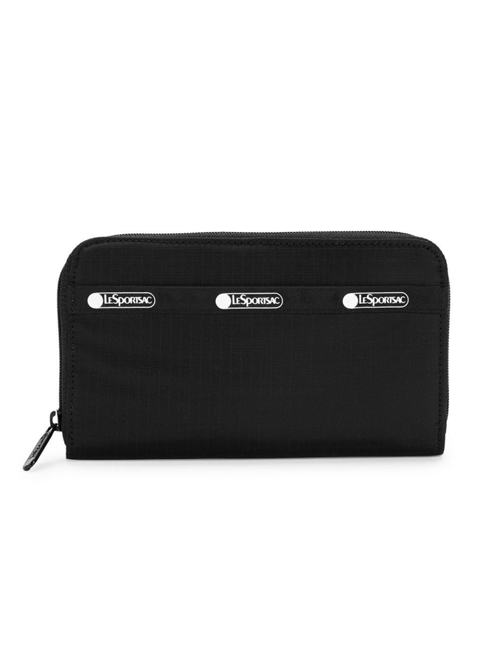 0b717412a1a8 Lyst - LeSportsac Logo Zip-around Nylon Pouch in Black