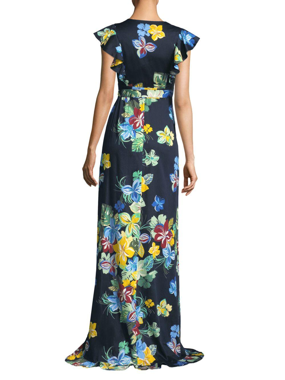 ed13e5685b Lyst - Alexis Janna Maxi Dress in Blue - Save 22%