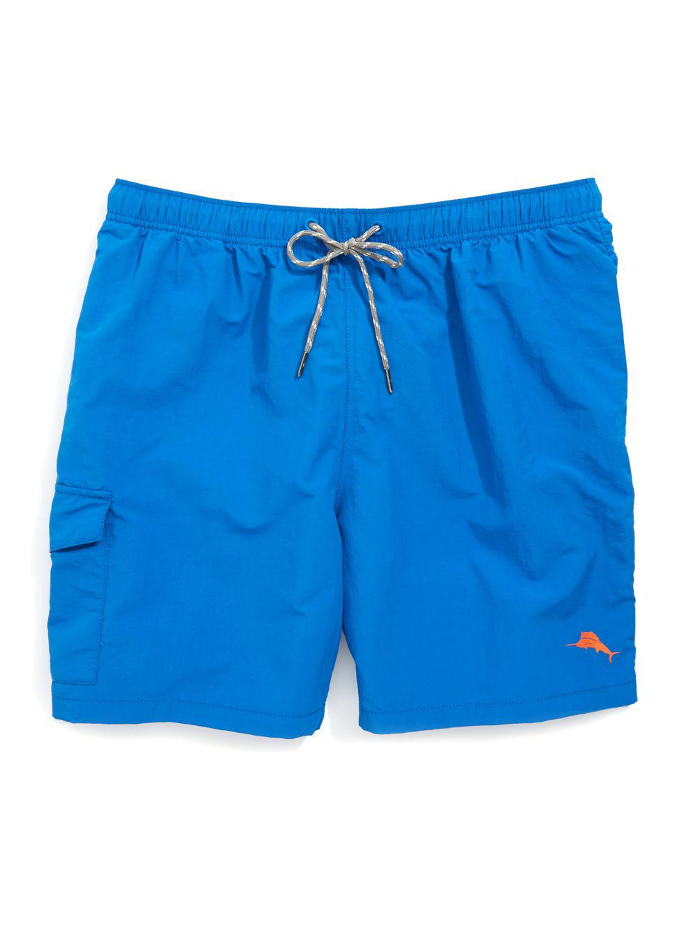 c31a58d2d6 Tommy Bahama The Naples Drawstring Swim Shorts in Blue for Men - Lyst