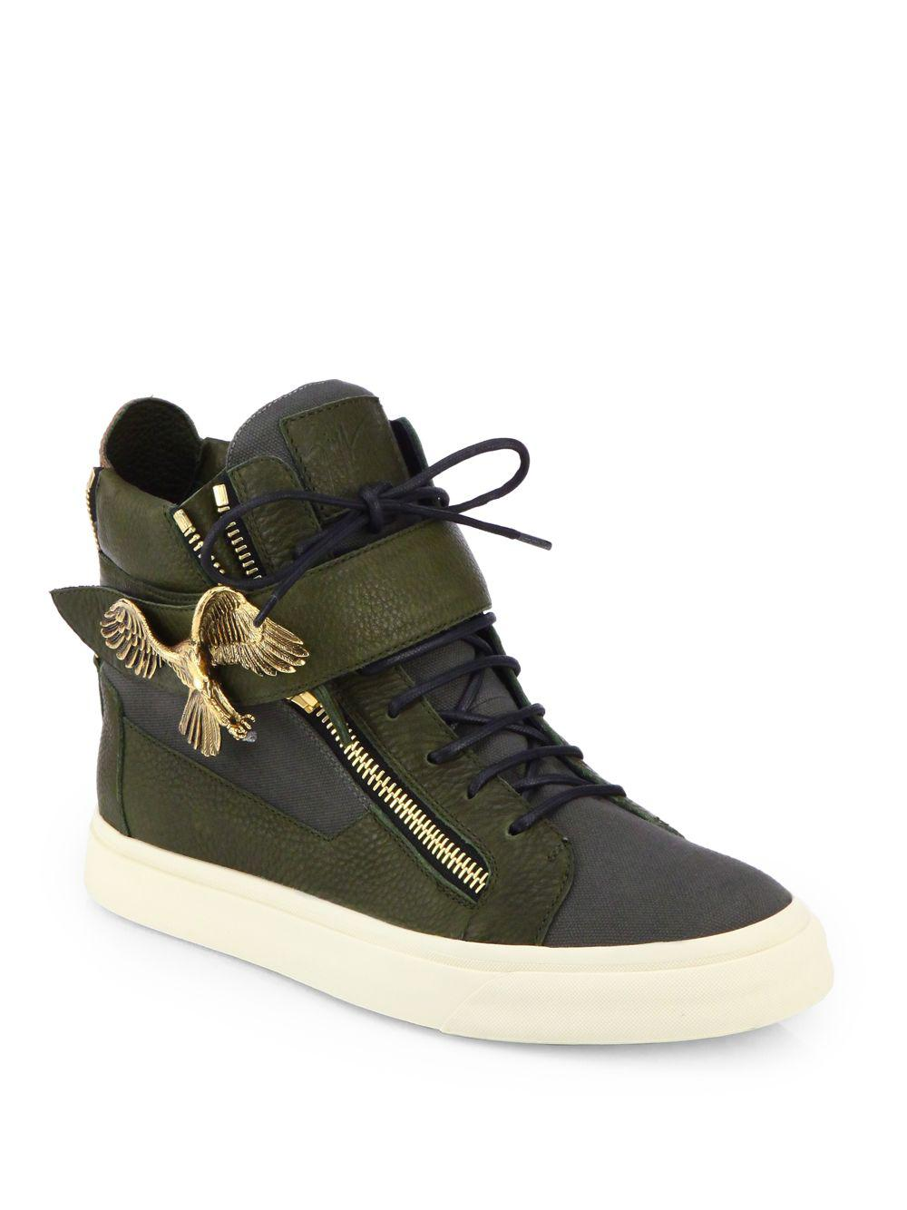 18f7af526354 Lyst - Giuseppe Zanotti Eagle High-top Sneakers for Men