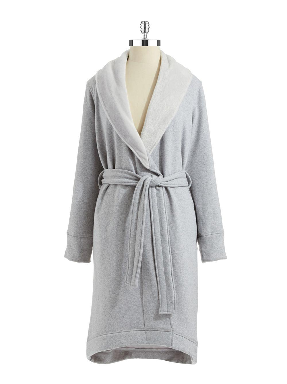 fa84ecb166 Lyst - Ugg Duffield Shawl Collar Robe in Gray