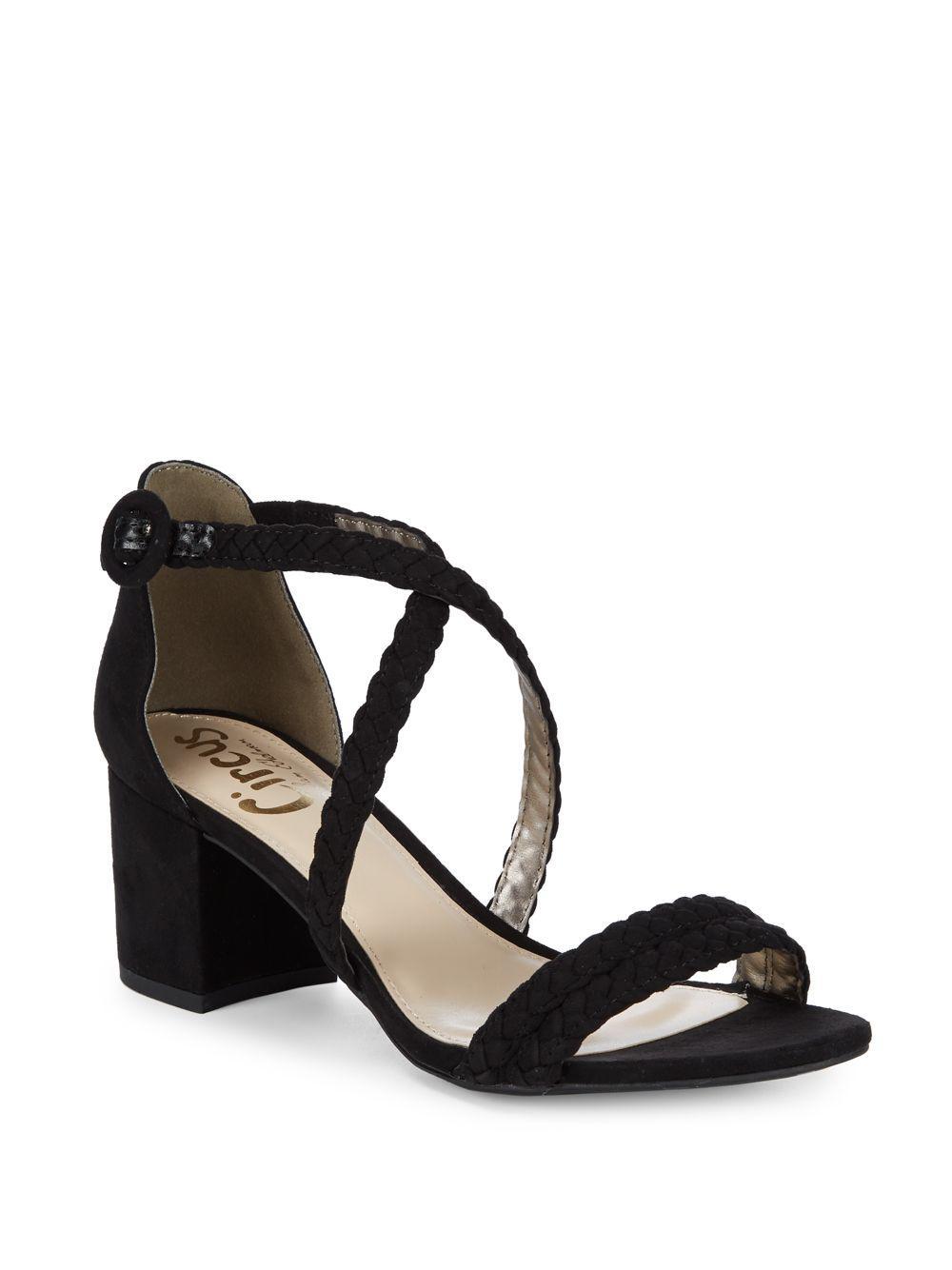 aba8f21e0ab4 Lyst - Circus by Sam Edelman Sallie Braided Block-heel Sandals in Black
