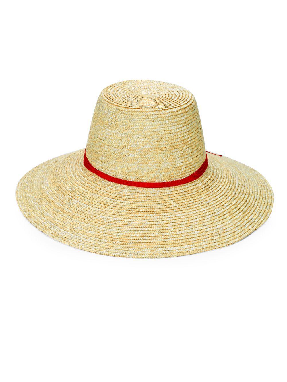 726c22c196f Lyst - Gottex Cote Dazur Straw Hat in Natural