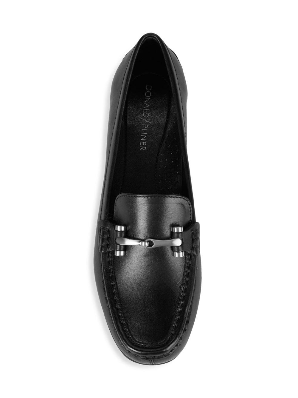 814418ab3a3 Donald J Pliner - Black Filo-43 Leather Driving Shoes - Lyst. View  fullscreen