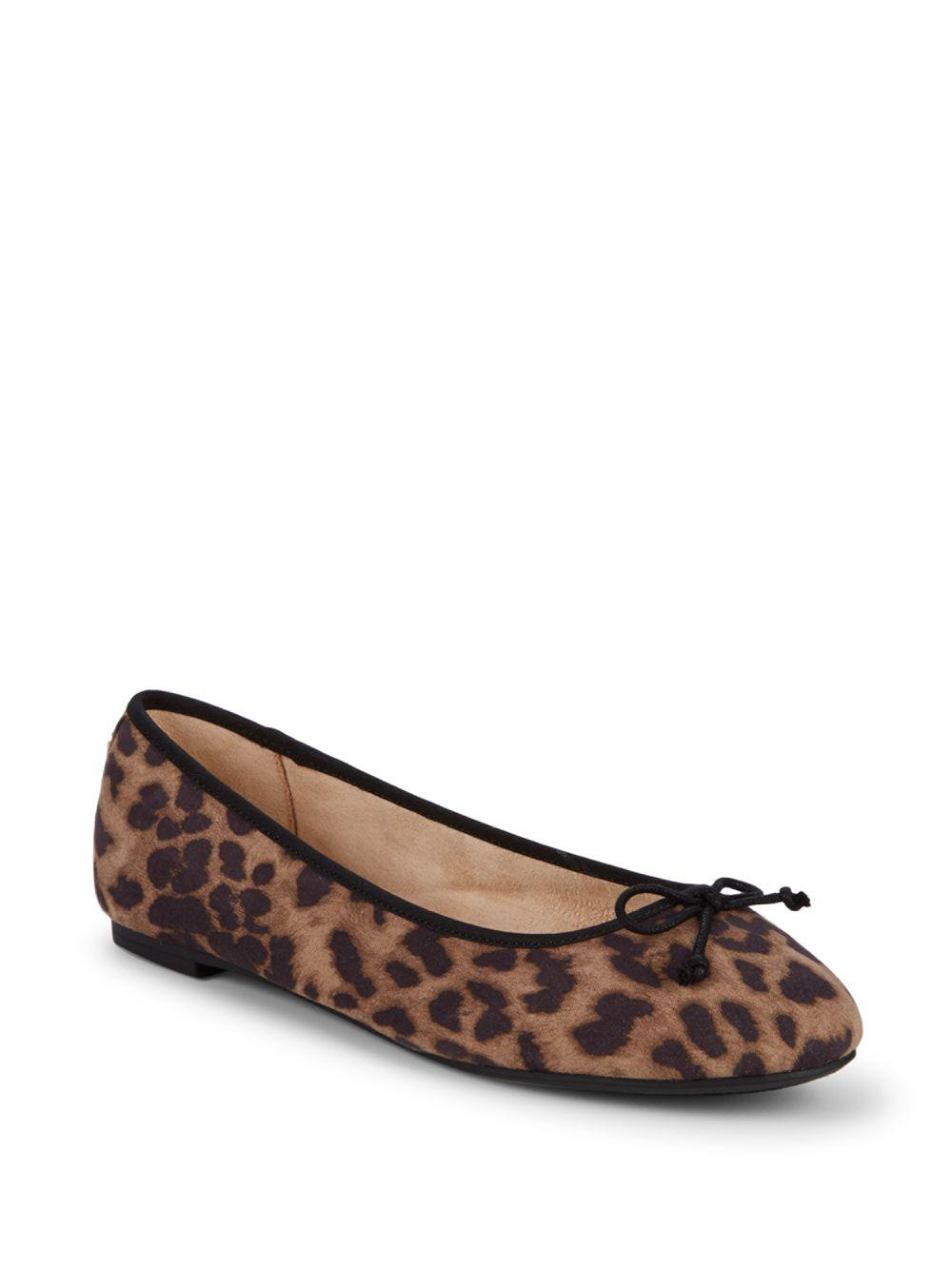 1b7fbec42 Lyst - Circus by Sam Edelman Charlotte Leopard Ballet Flats in Brown
