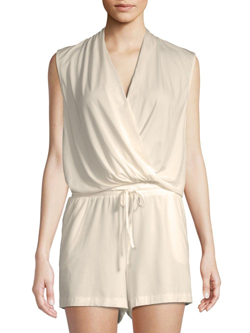 7e0d19f571b8 UGG Kami Lounge Romper in Natural - Lyst