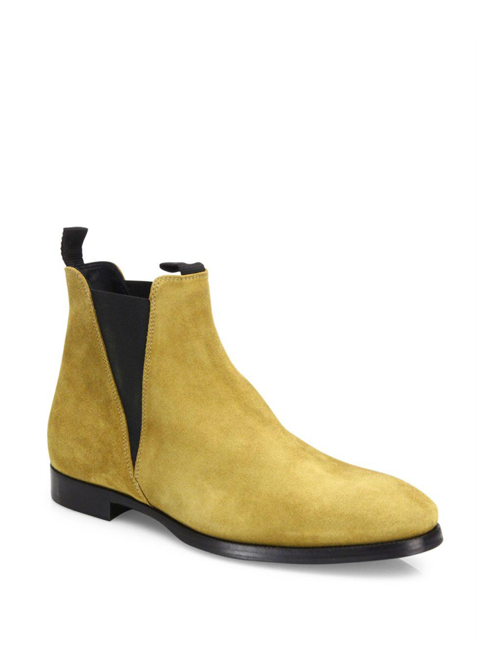 865a43137391 Lyst - Acne Studios Zack Slip-on Ankle Boots in Natural