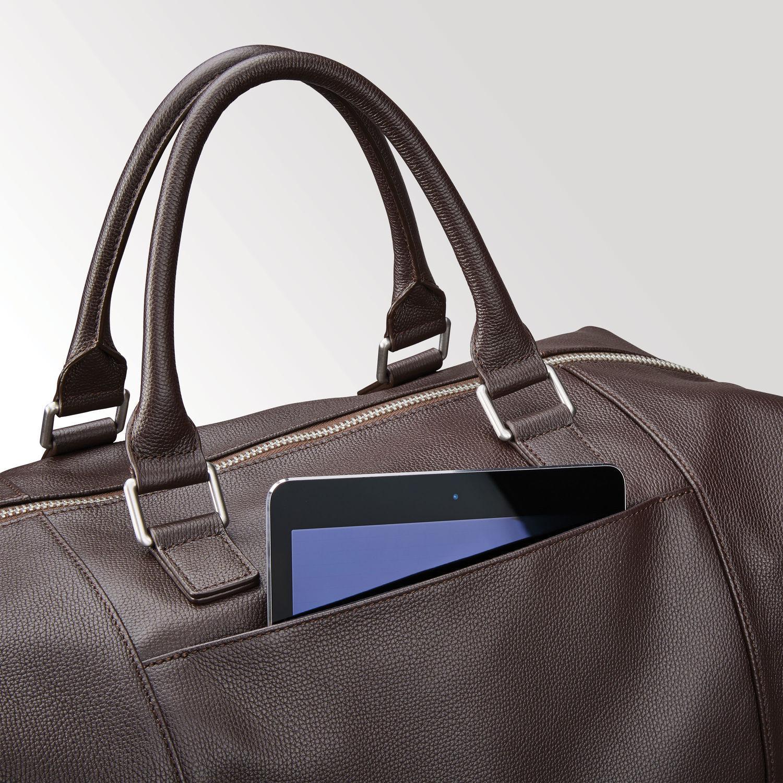 6d83407833d4 Boston Mens Vintage Leather Convertible Backpack And Shoulder Bag ...