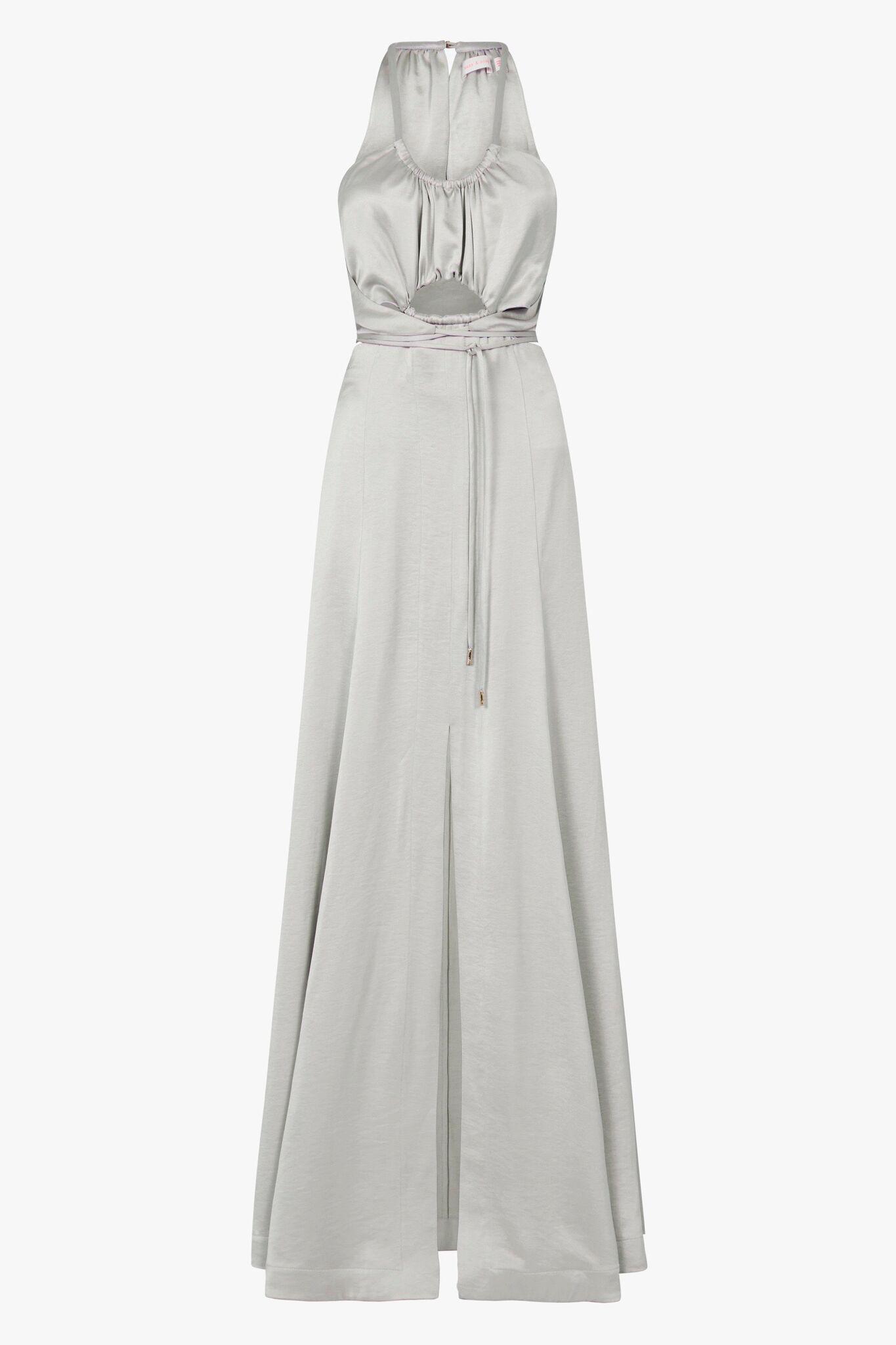 Lyst Sass Bide White Keys Maxi Dress In Gray