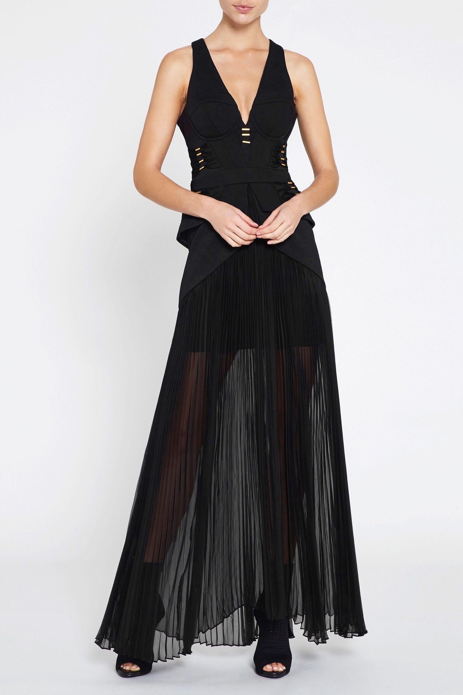 Lyst Sass Bide The Utopian Dress In Black