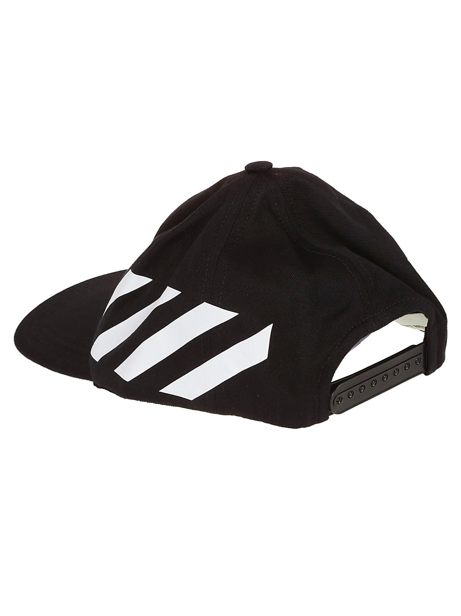 198b1dee384 Off-White c o Virgil Abloh - Black Baseball Cap for Men - Lyst. View  fullscreen
