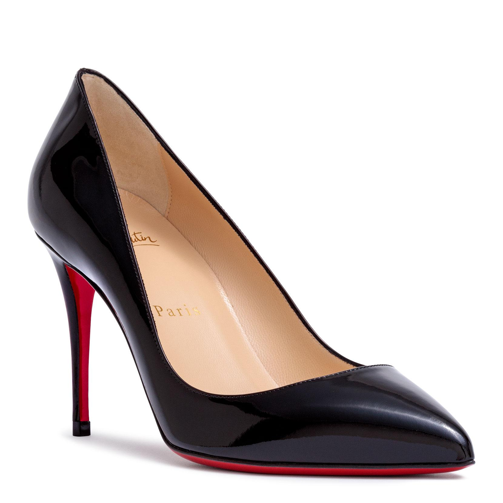 Pigalle Follies 85 black patent leather pumps Christian Louboutin Af72qy7xS6