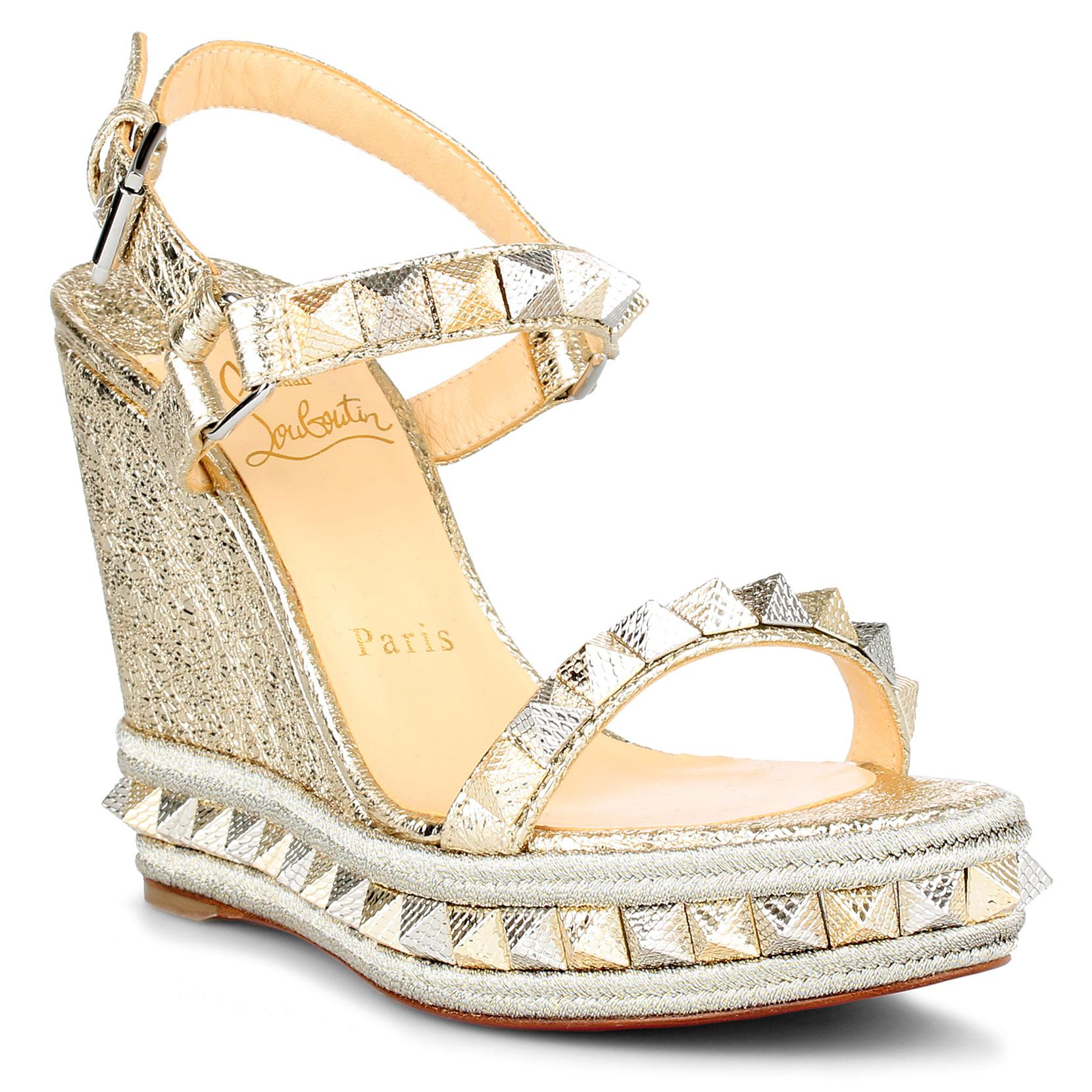 big discount online Christian Louboutin Metallic Espadrille Sandals clearance finishline outlet fashion Style from china 2015 new online 7H4pXqaaIX