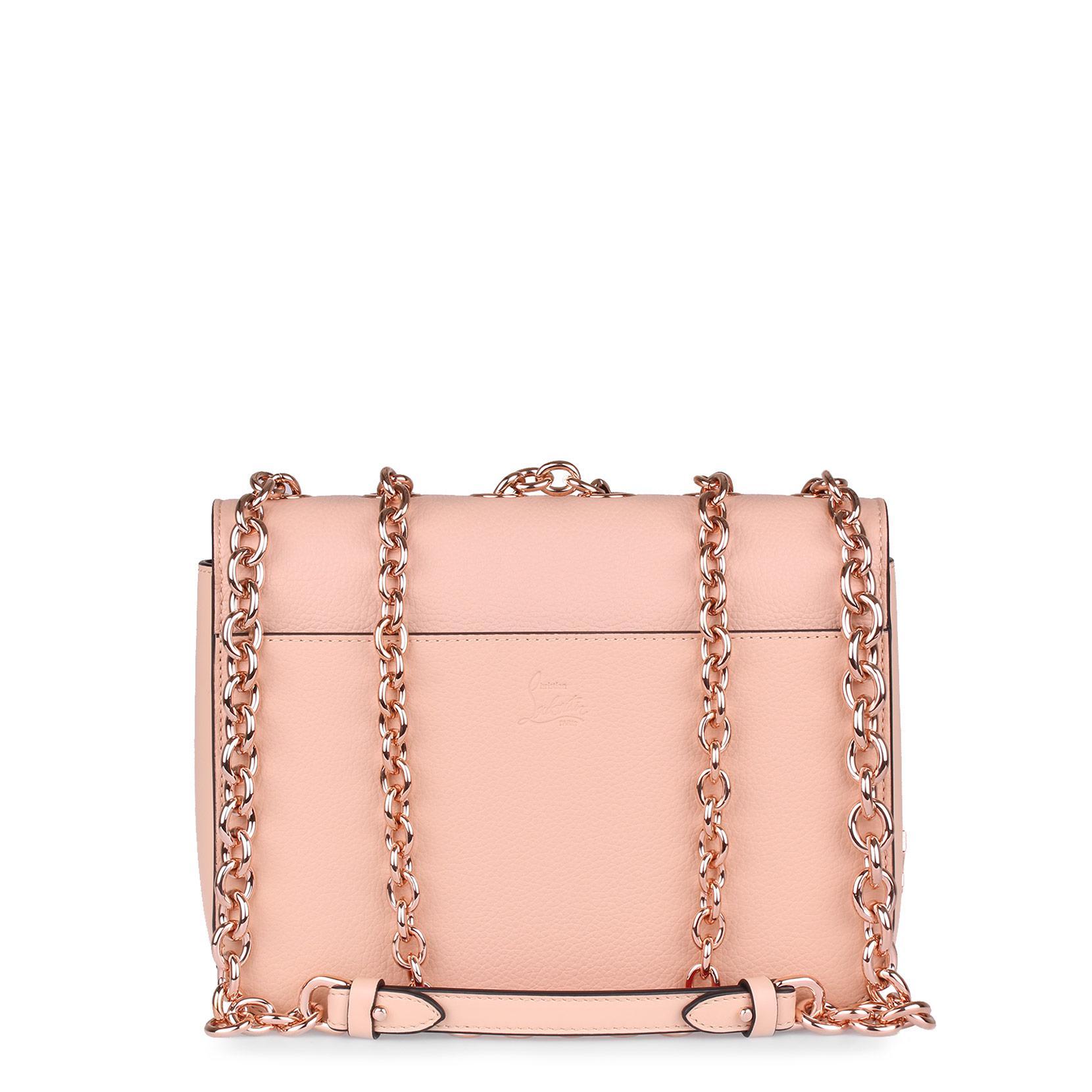 Christian Louboutin Sweet Charity rose gold shoulder bag jlAQs