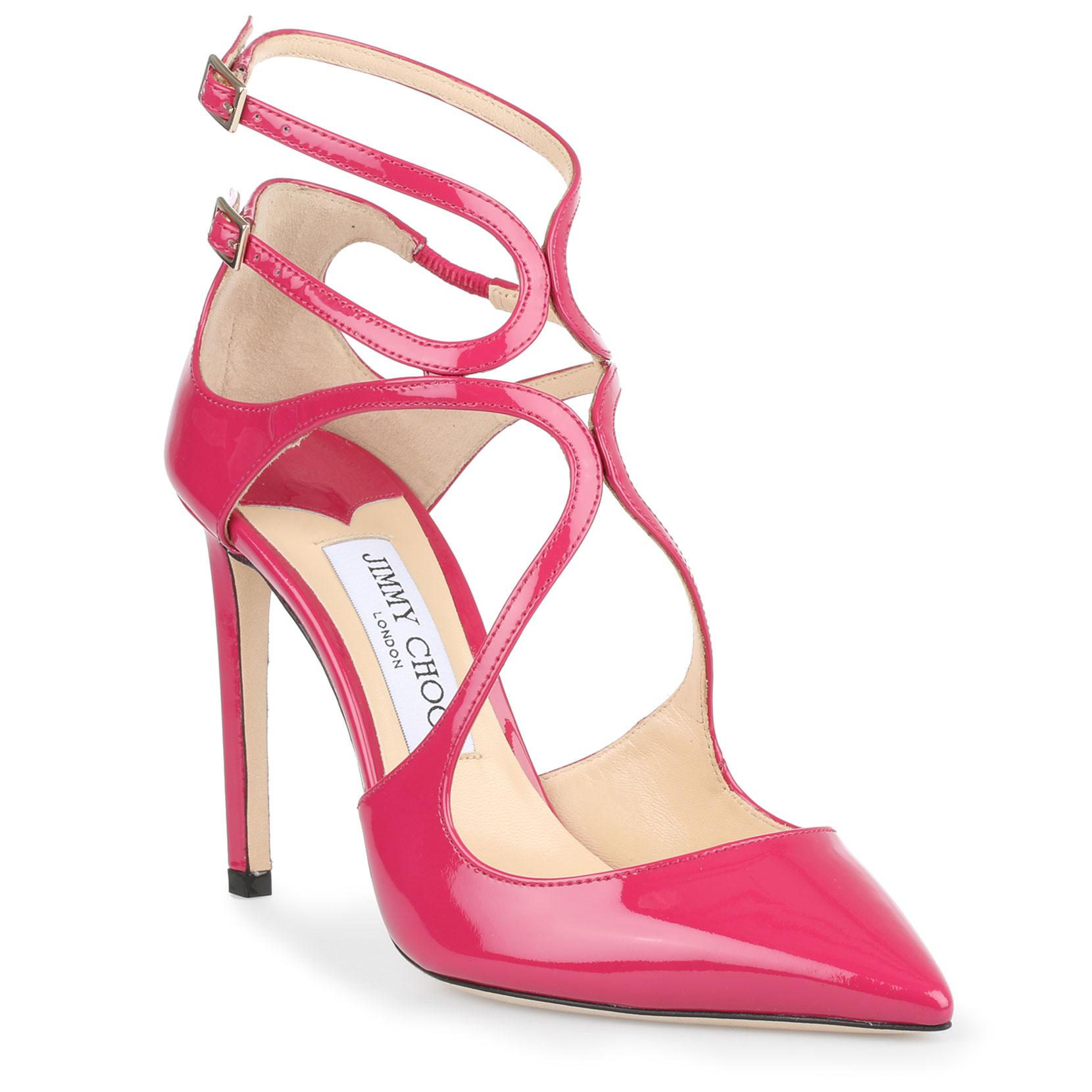Lancer 100 patent cerise pumps Jimmy Choo London aoNHAwwd