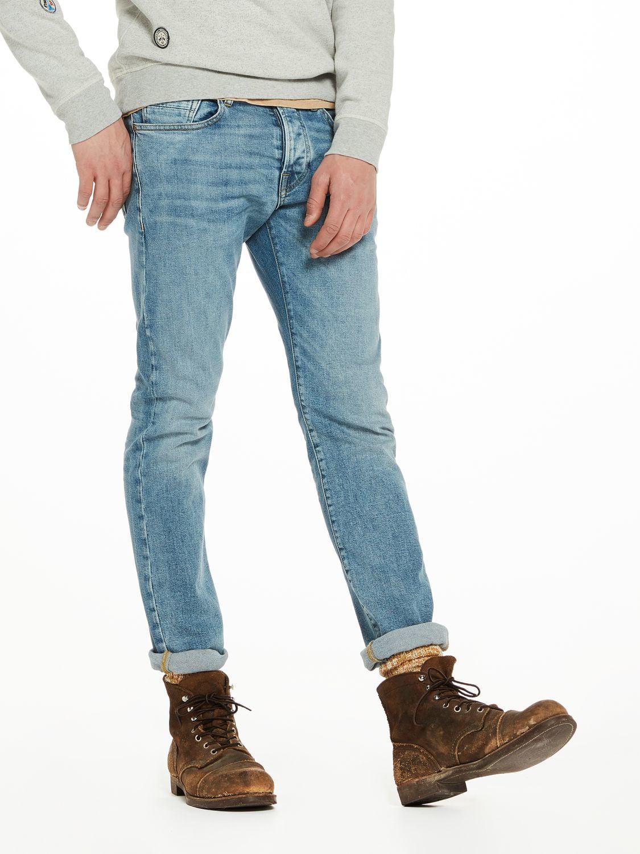 Mens Ralston-Bronco Blue Jeans Scotch & Soda Jg8e4