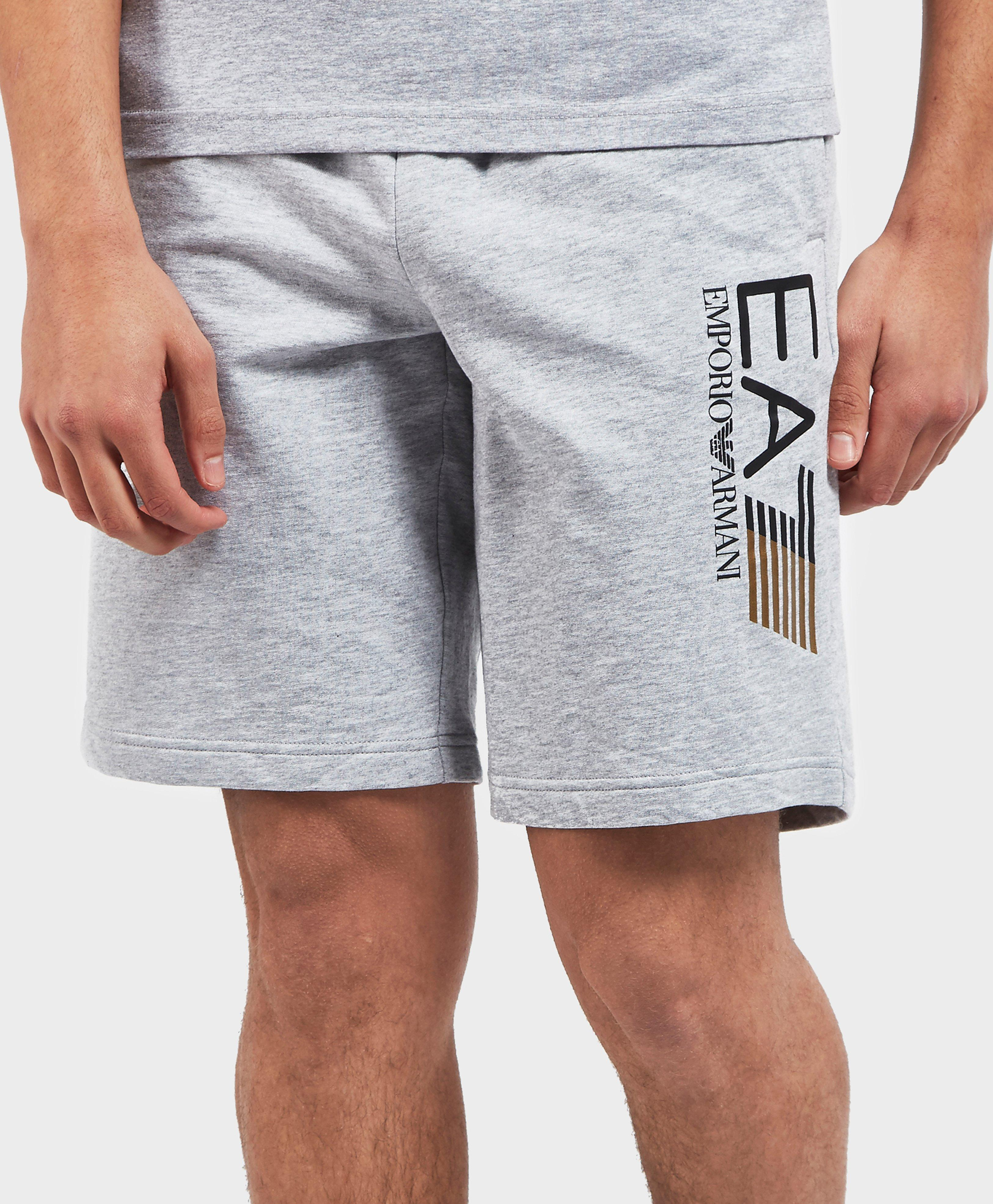 6647d2f2898 Lyst - Ea7 Visibility Fleece Shorts in Gray for Men