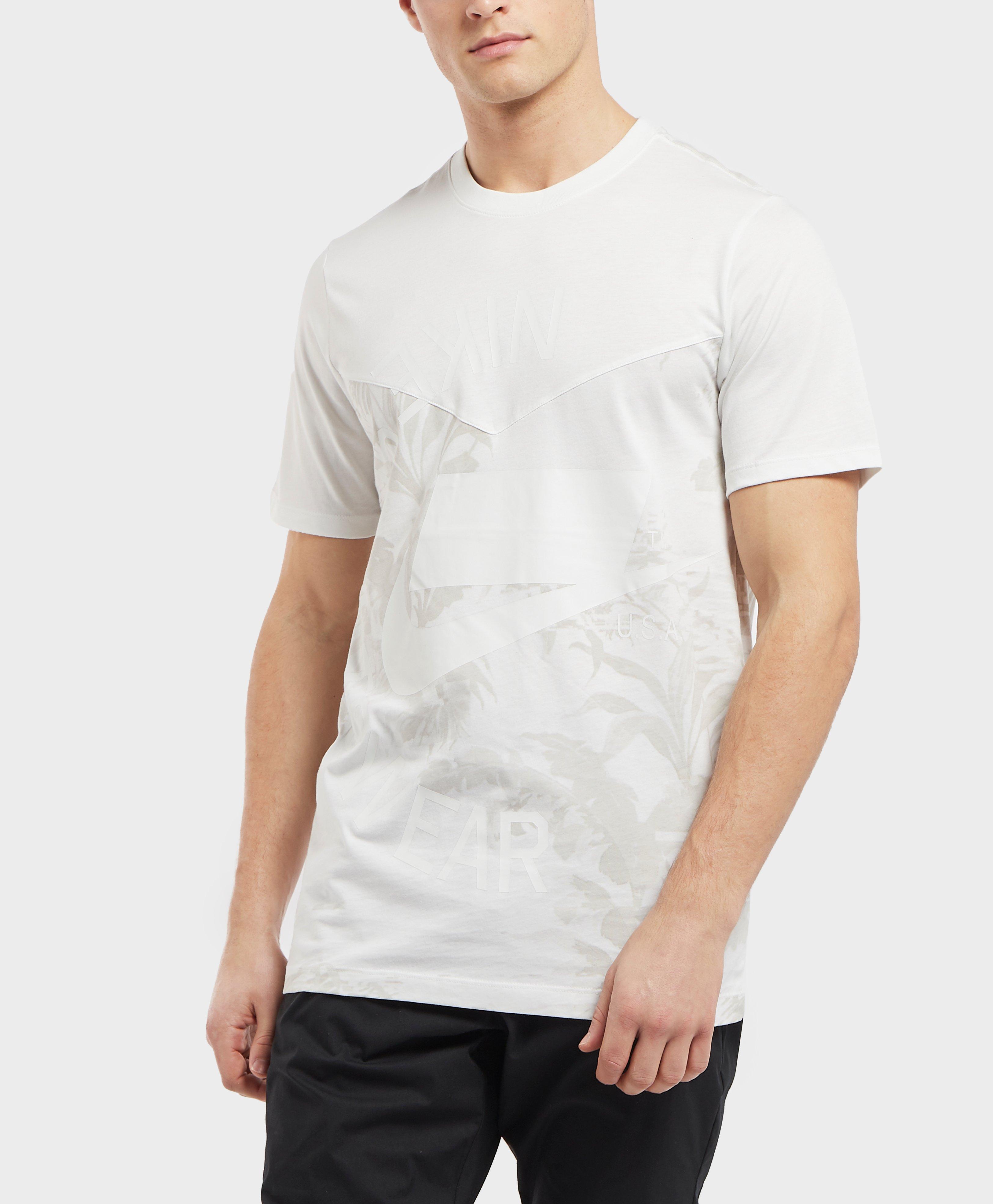 786732cc3 Nike Nsw 2 Short Sleeve T-shirt in White for Men - Lyst