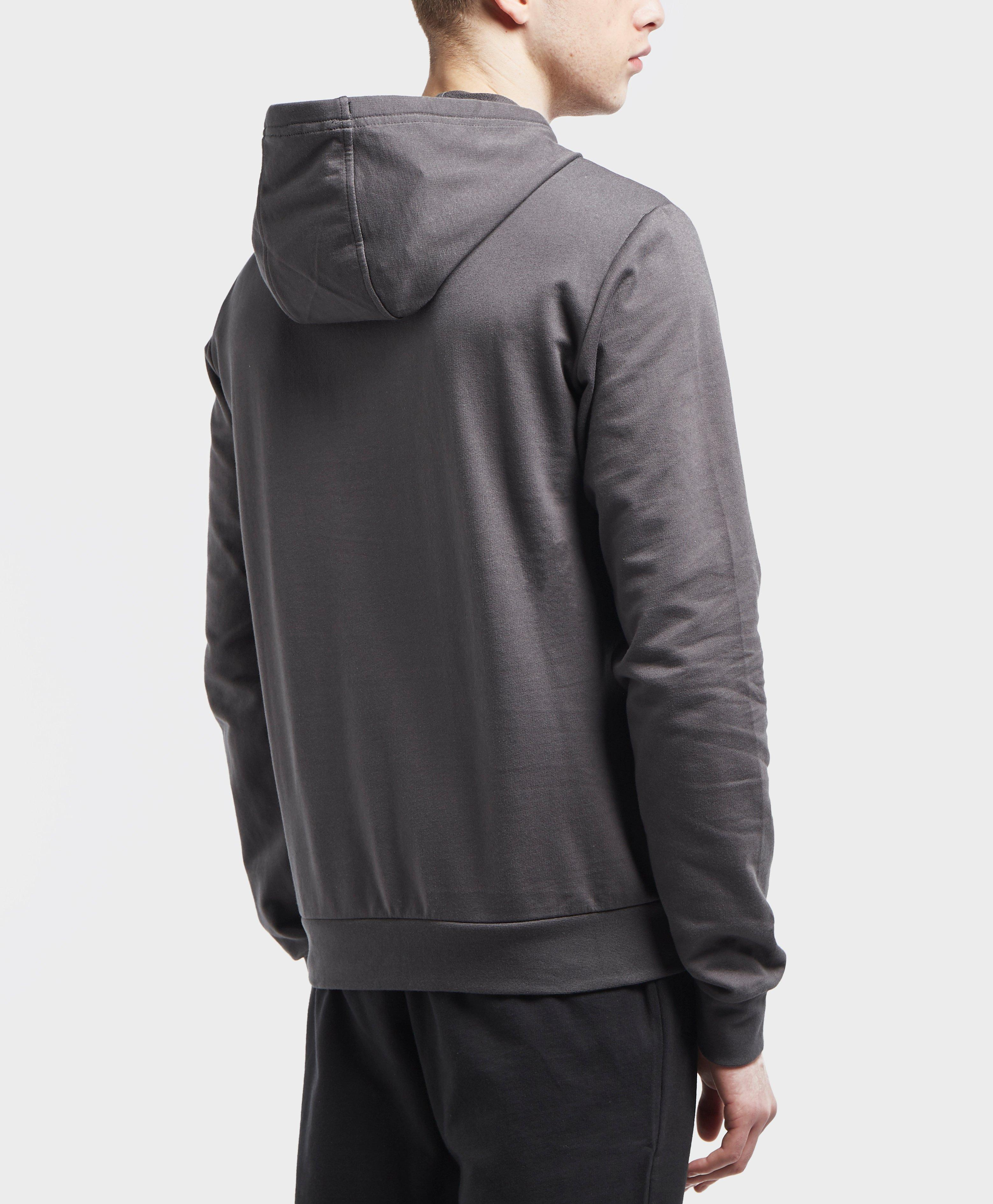 f31164a777c Lyst - Ea7 Visibility Logo Overhead Hoodie in Gray for Men