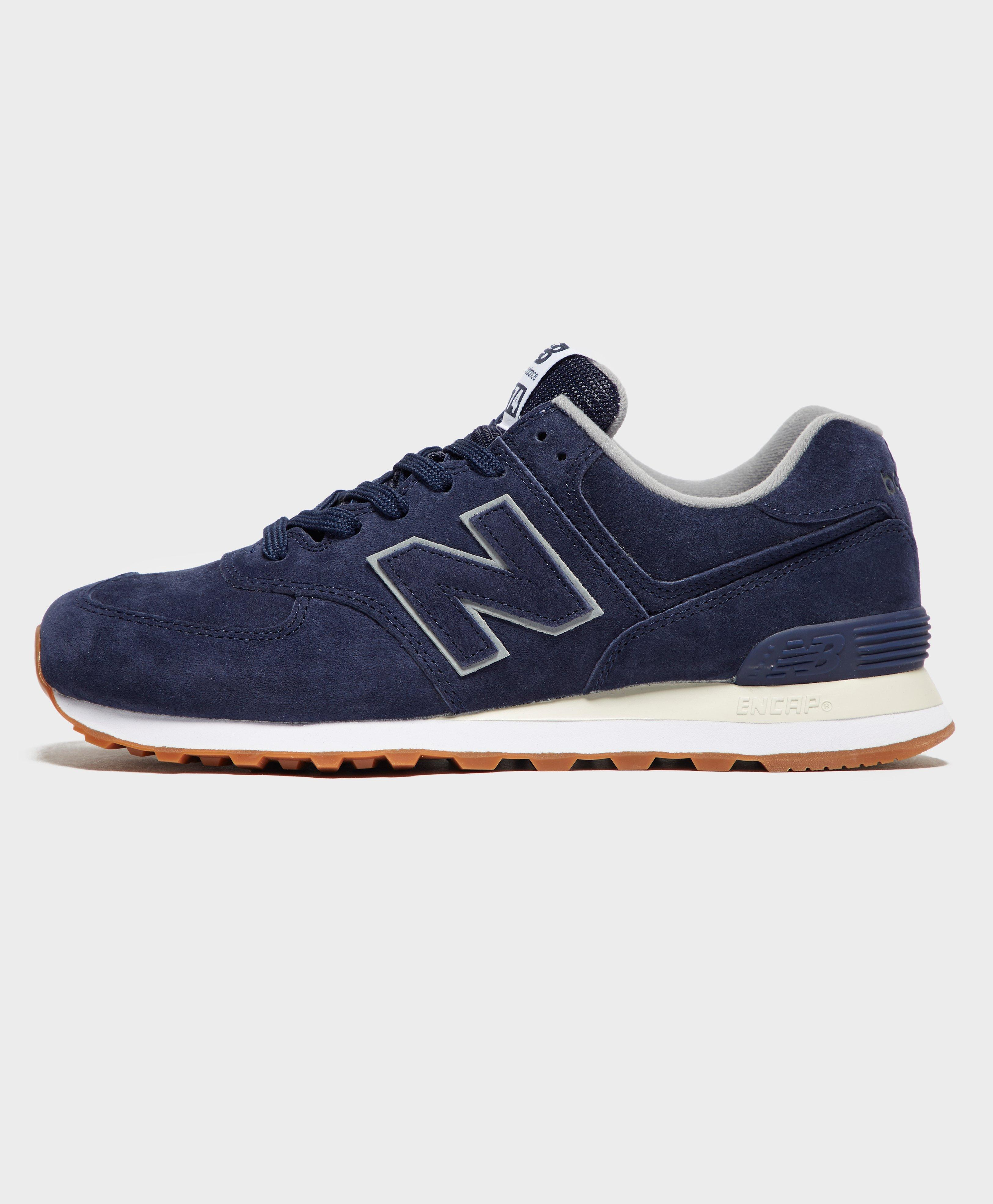 7ebefac01d145 New Balance 574 in Blue for Men - Lyst