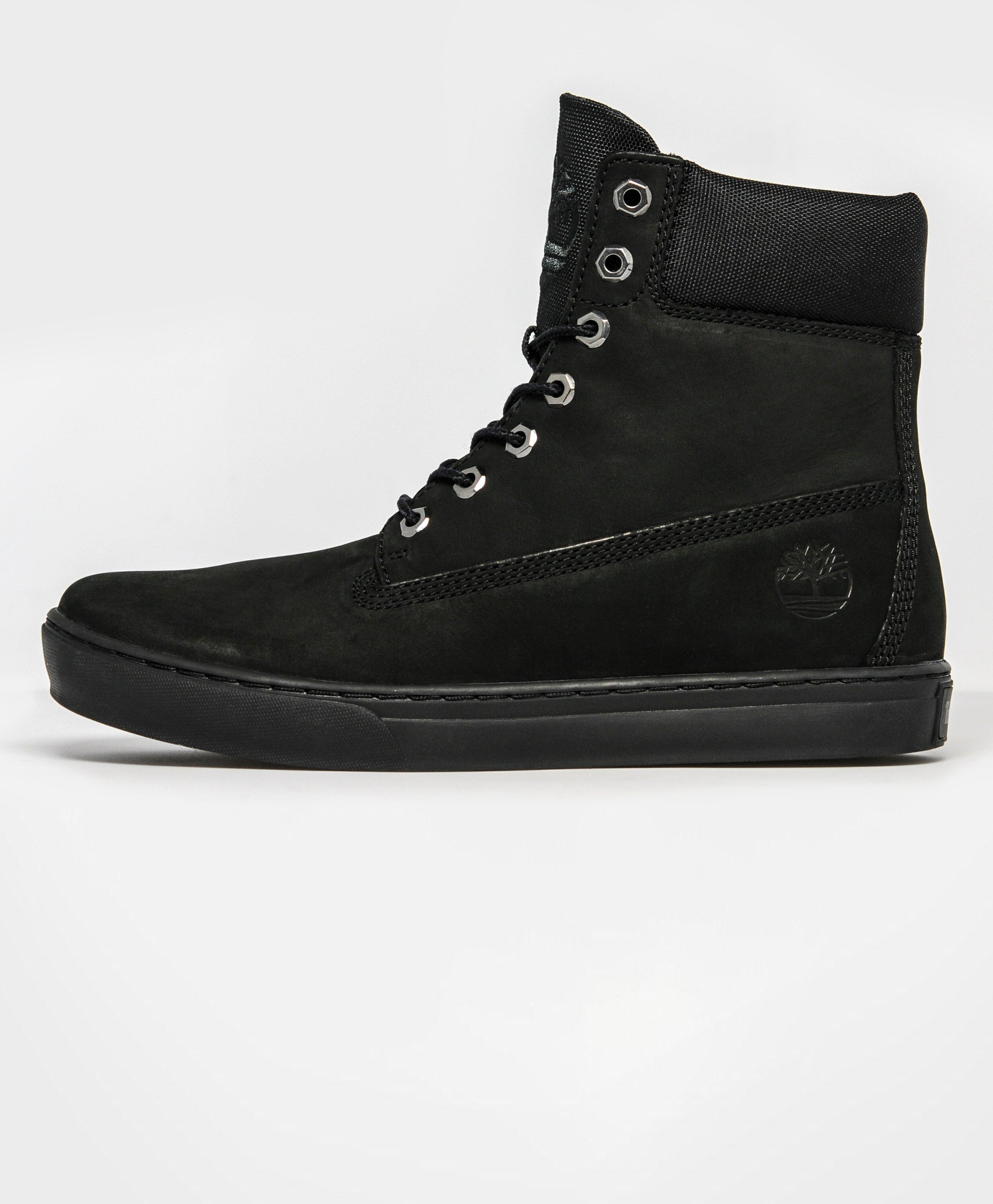 Black Timberland Newmarket Shoes