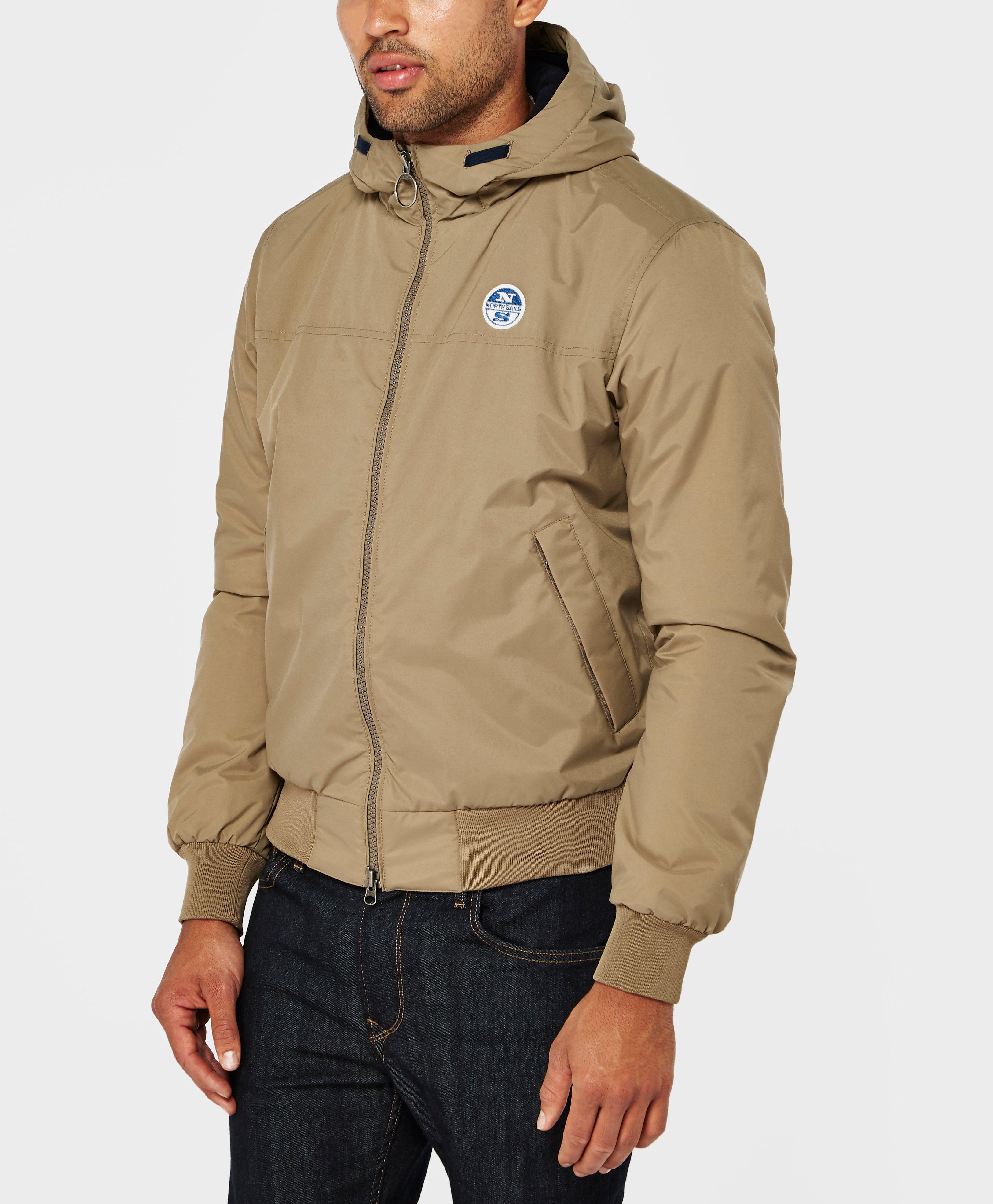 north sails dennis hooded lightweight jacket for men lyst. Black Bedroom Furniture Sets. Home Design Ideas