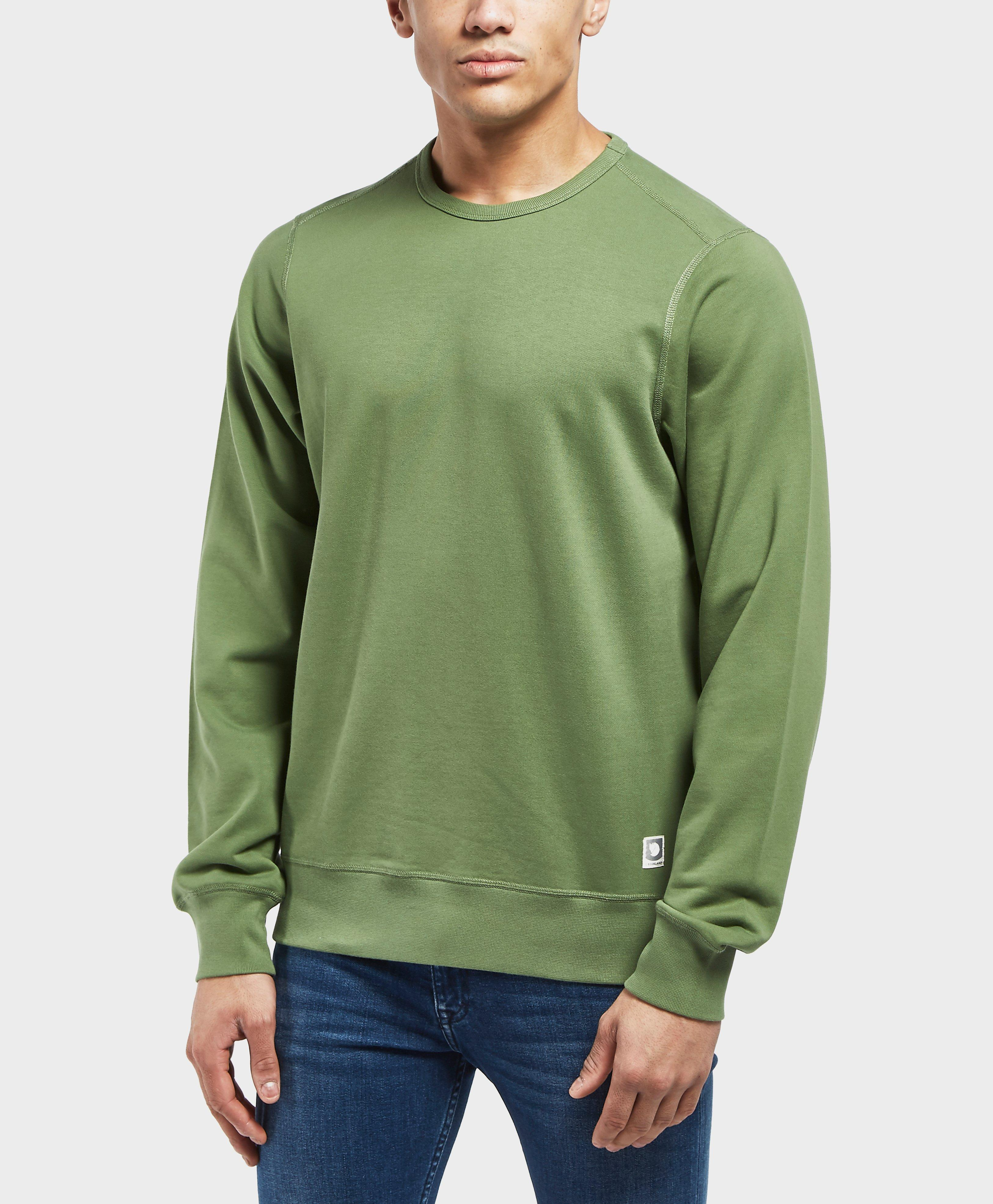 7aed034fe Fjallraven Greenland Crew Sweatshirt in Green for Men - Lyst