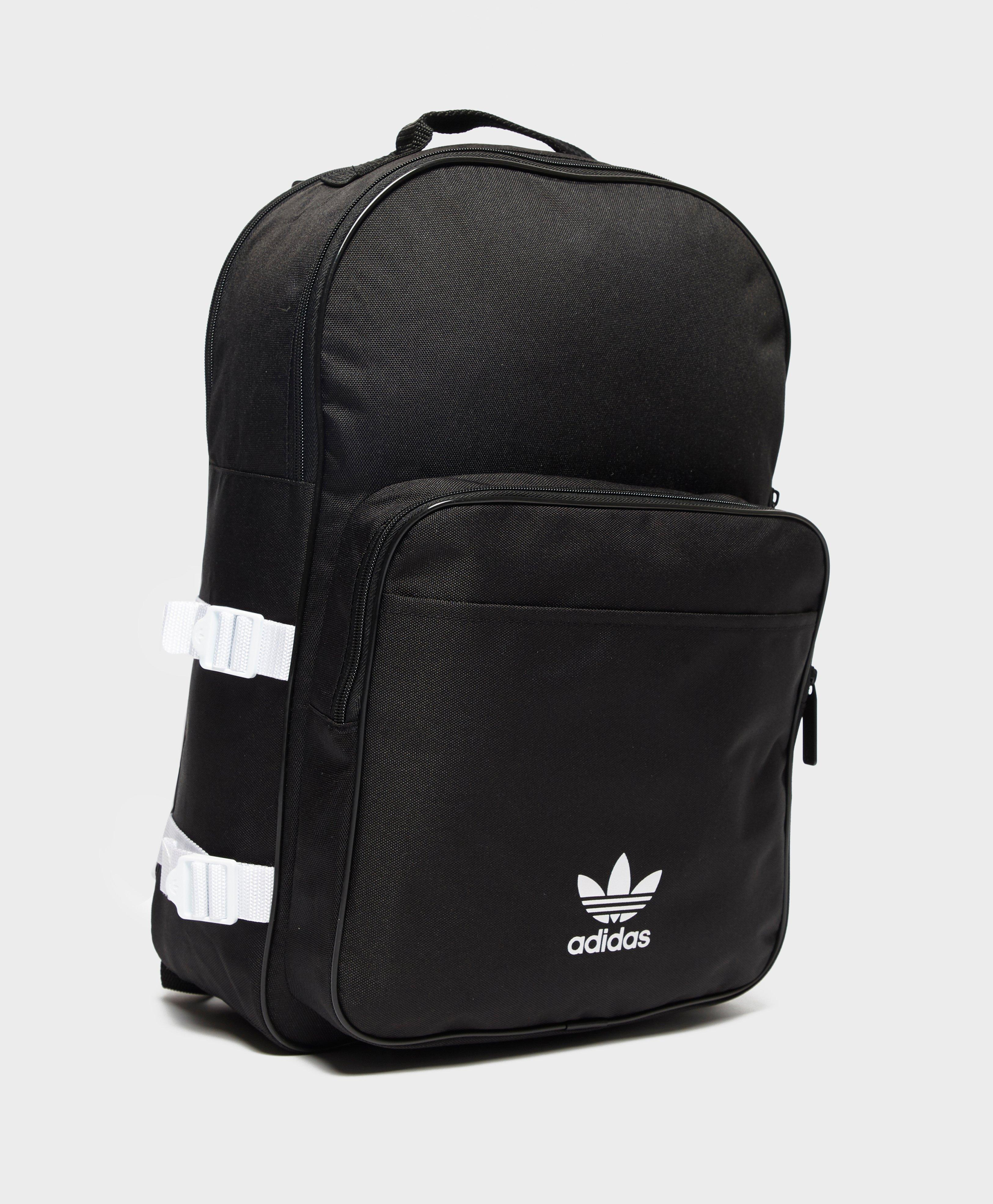 a0e5548a74 adidas Originals Essential Backpack in Black for Men - Lyst
