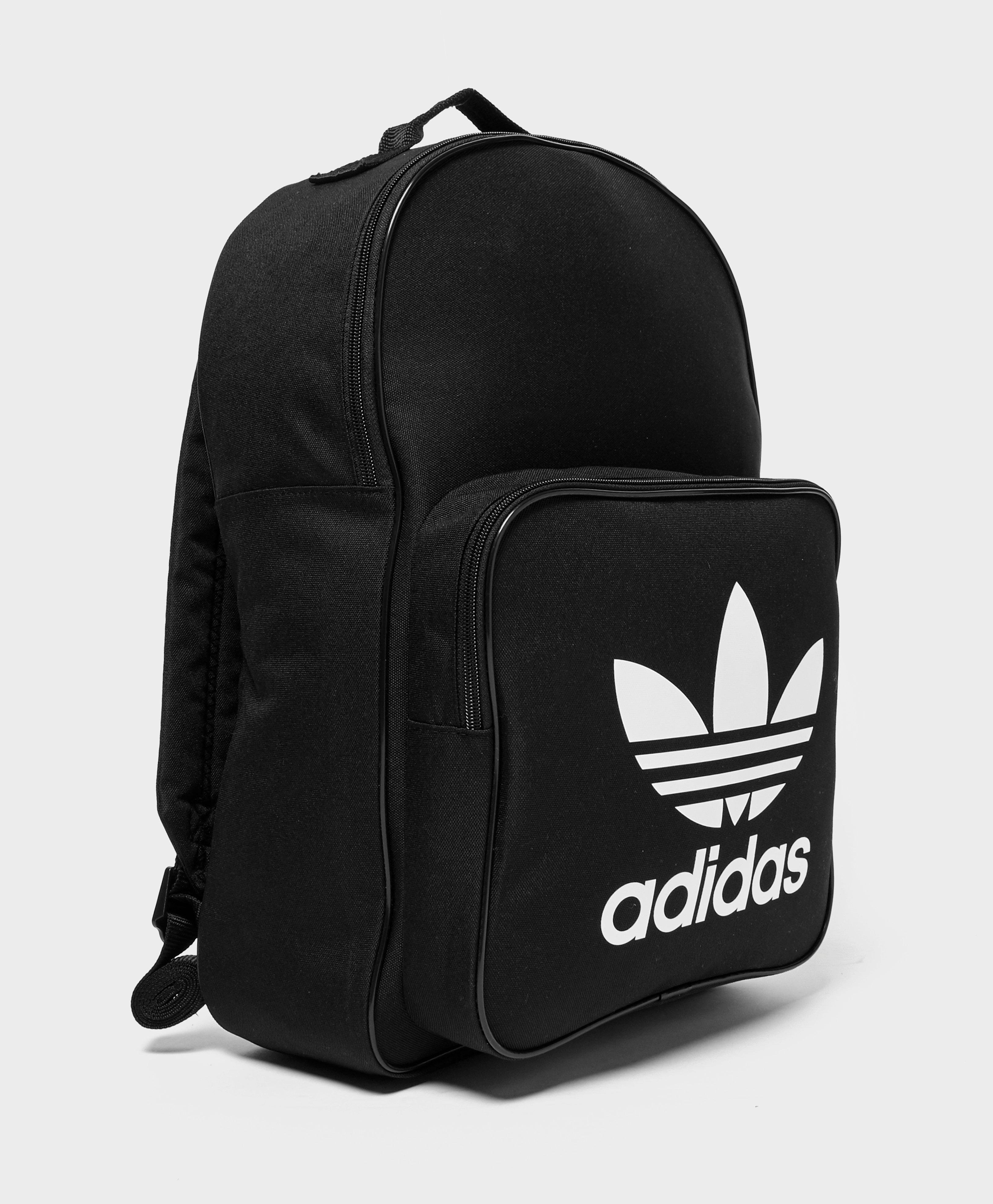 3da8fb29b2 adidas Originals Classic Trefoil Backpack in Black for Men - Lyst