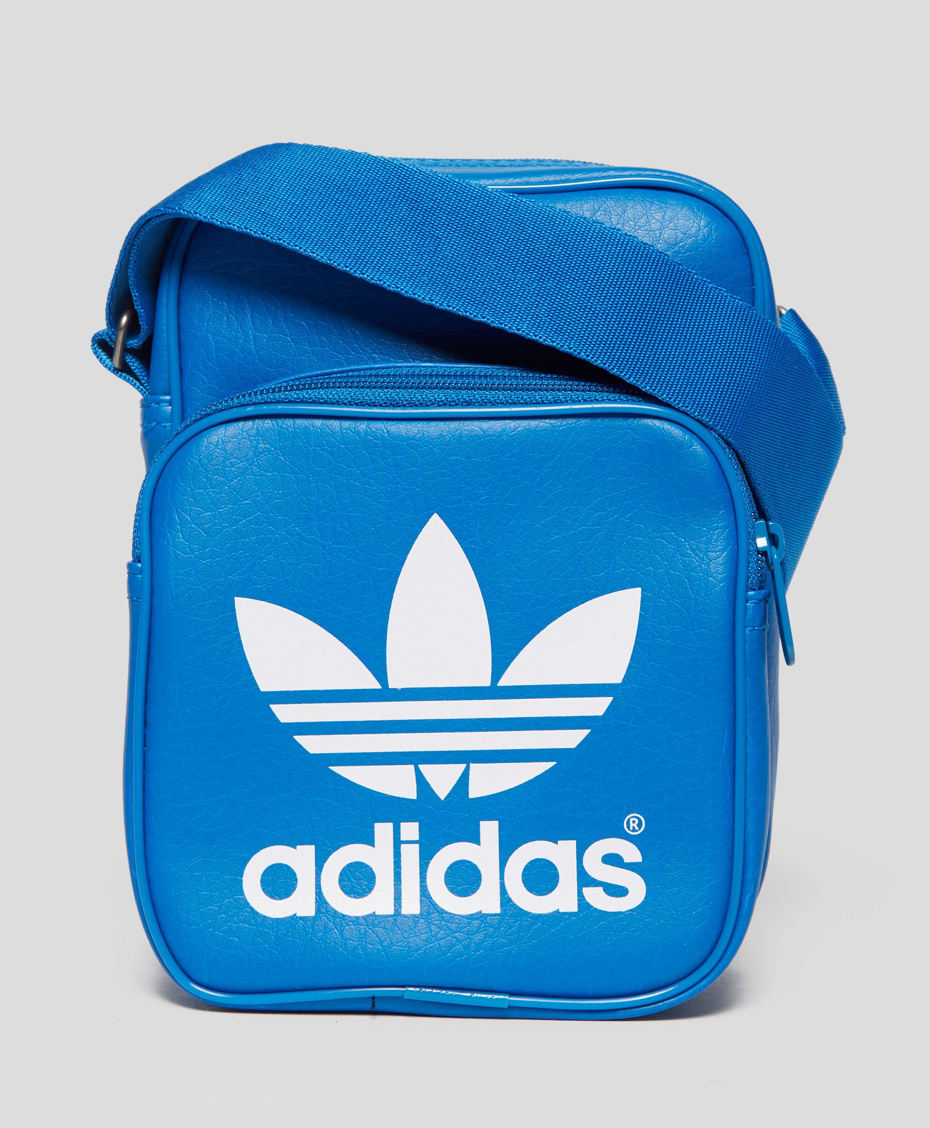 Adidas Originals Mini Classic Small Items Bag in Blue for Men - Lyst 2fb46f7863f4c