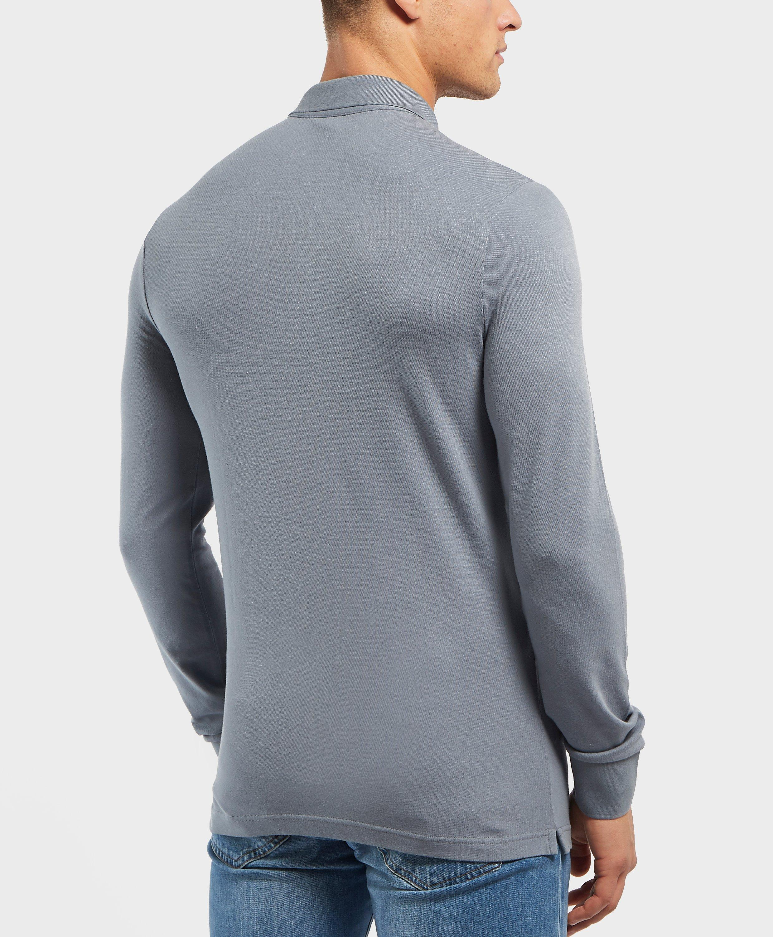 0c0c4350 BOSS Passerby Long Sleeve Polo Shirt for Men - Lyst