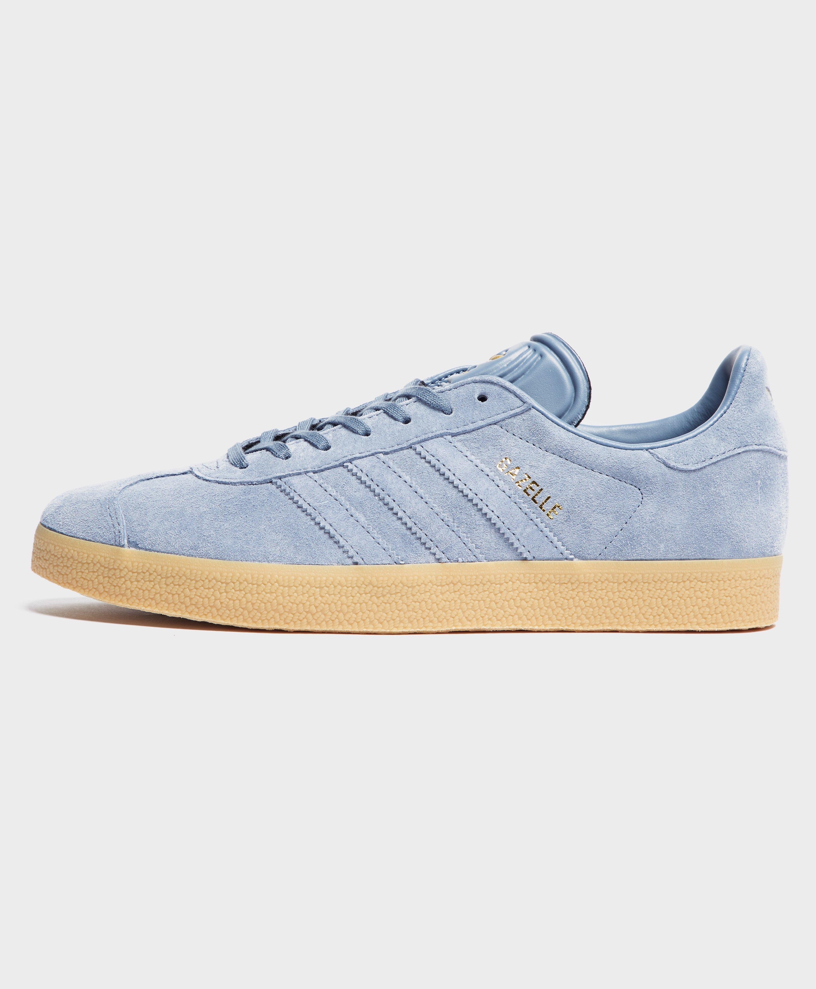 competitive price 79b3b e867b adidas Originals. Mens Blue Gazelle