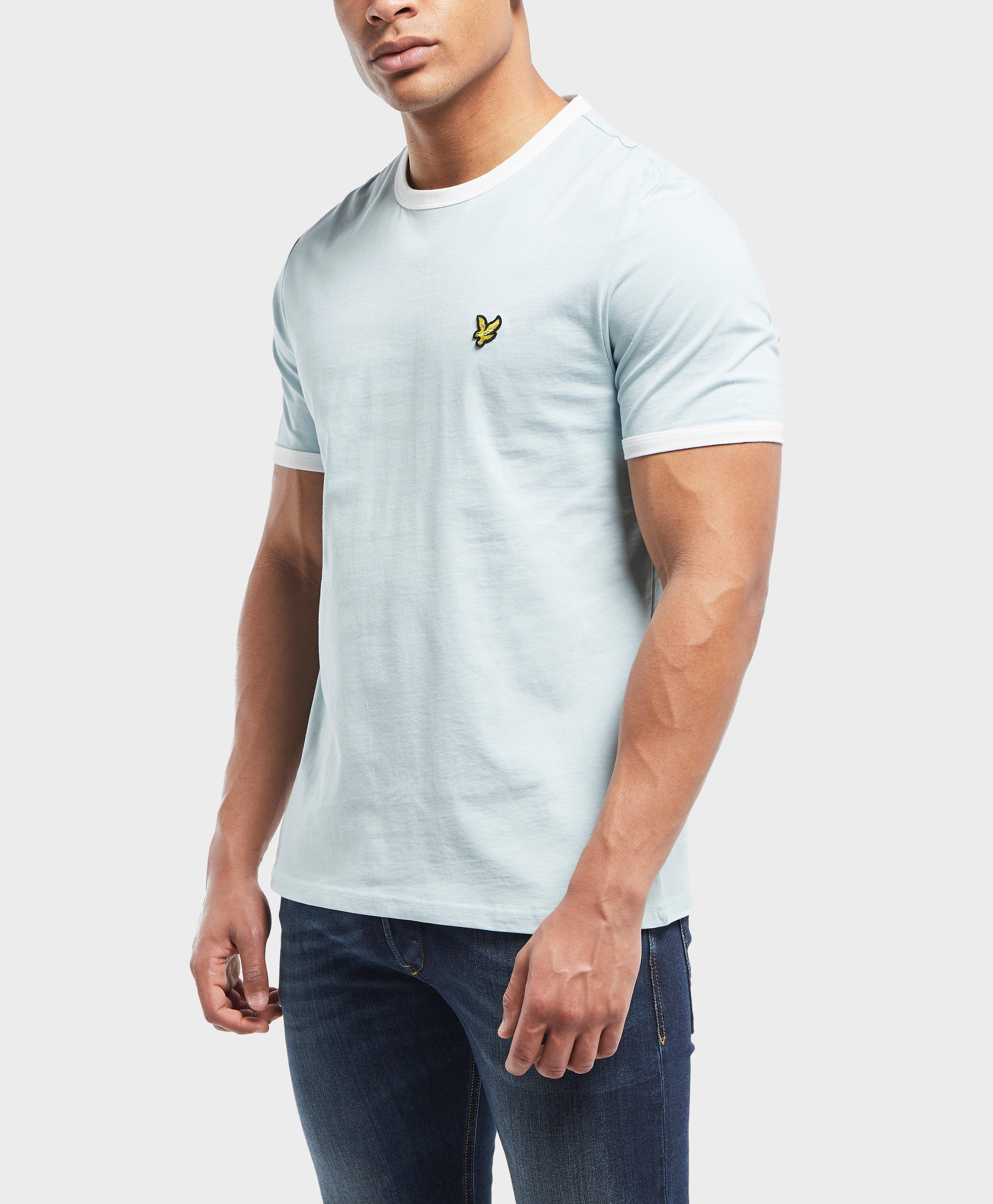 0177dac01 Lyle & Scott Short Sleeve Ringer T-shirt in Blue for Men - Lyst