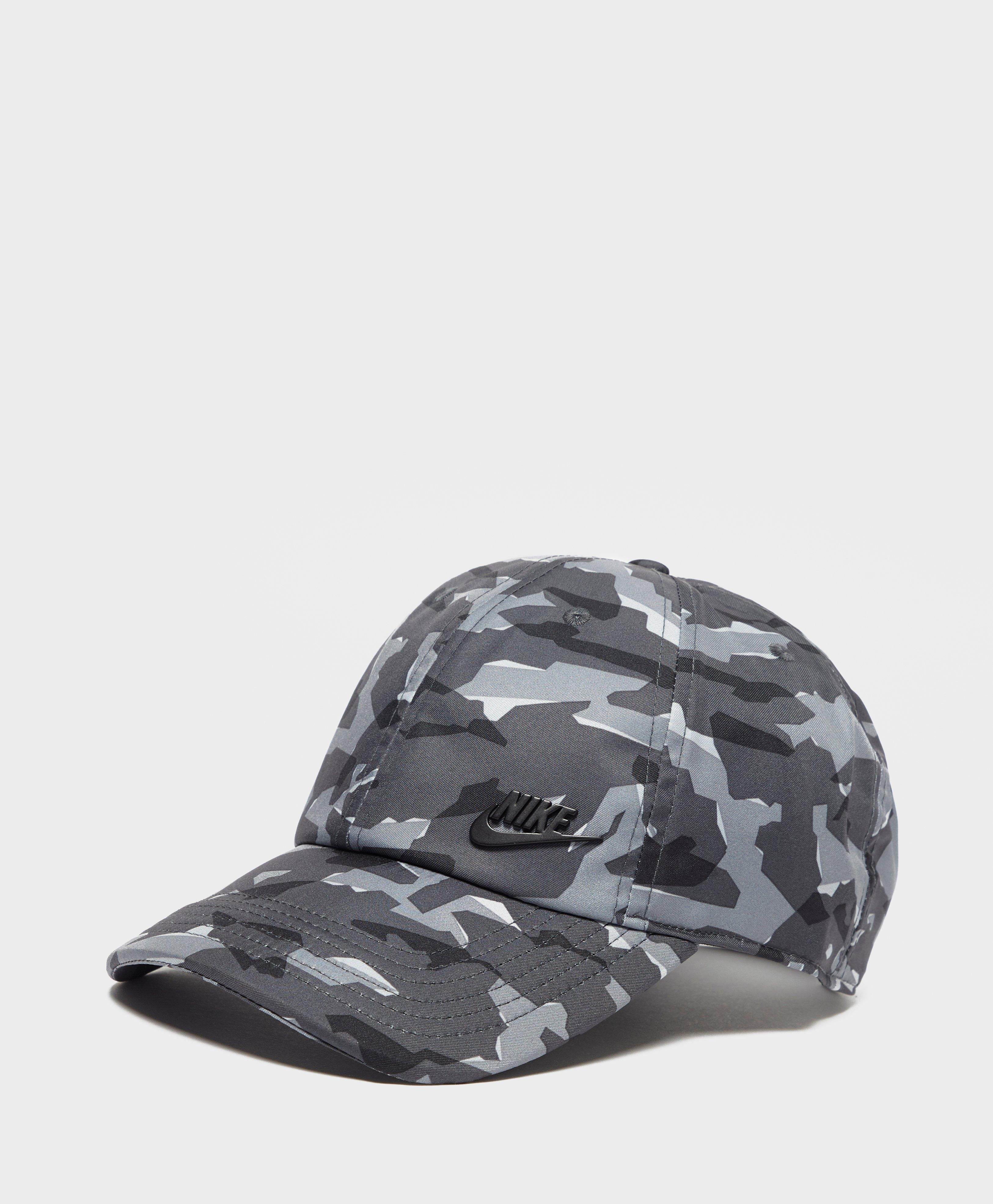 Nike Futura Camo Cap in Gray for Men - Lyst 9a0dde09af80