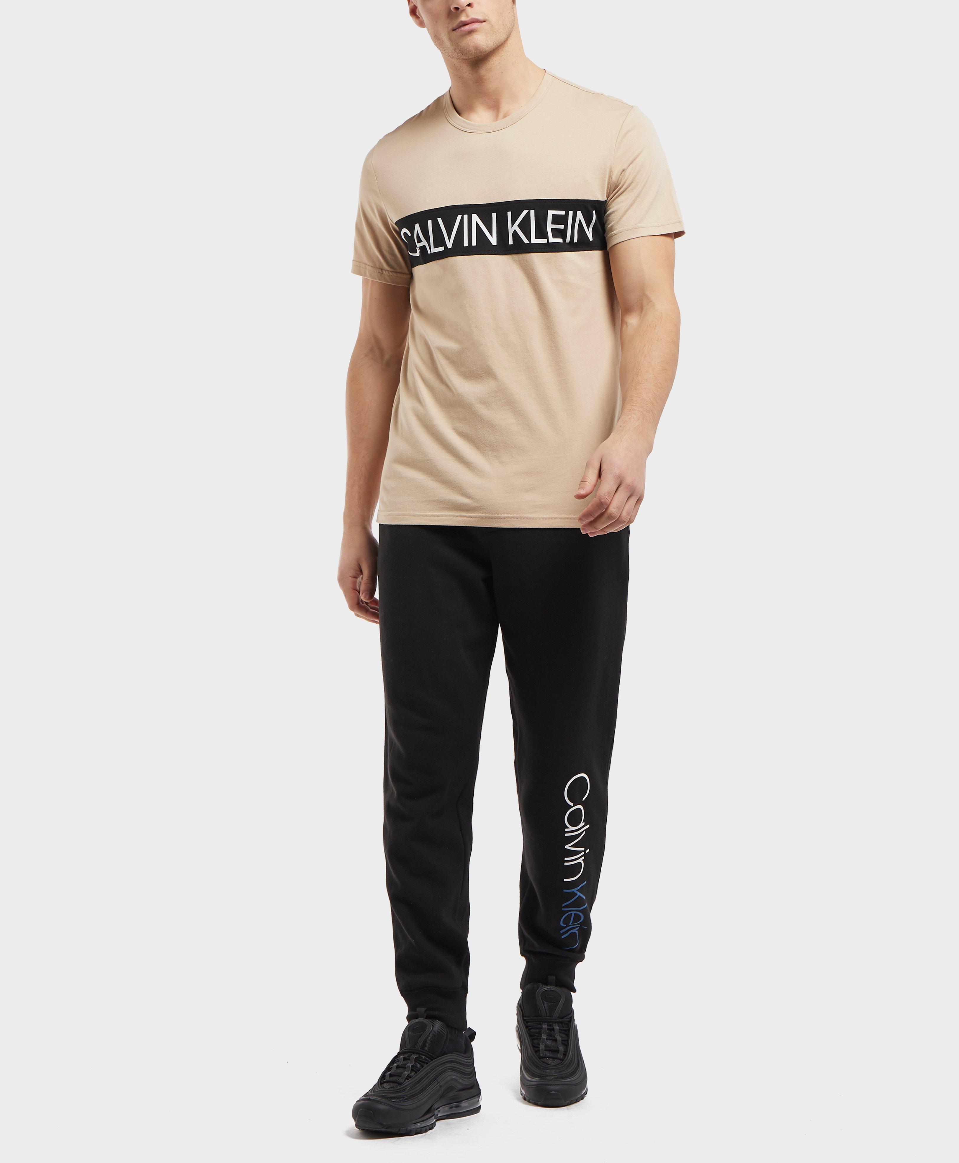 0503053f Calvin Klein - Multicolor Panel Logo Short Sleeve T-shirt for Men - Lyst.  View fullscreen