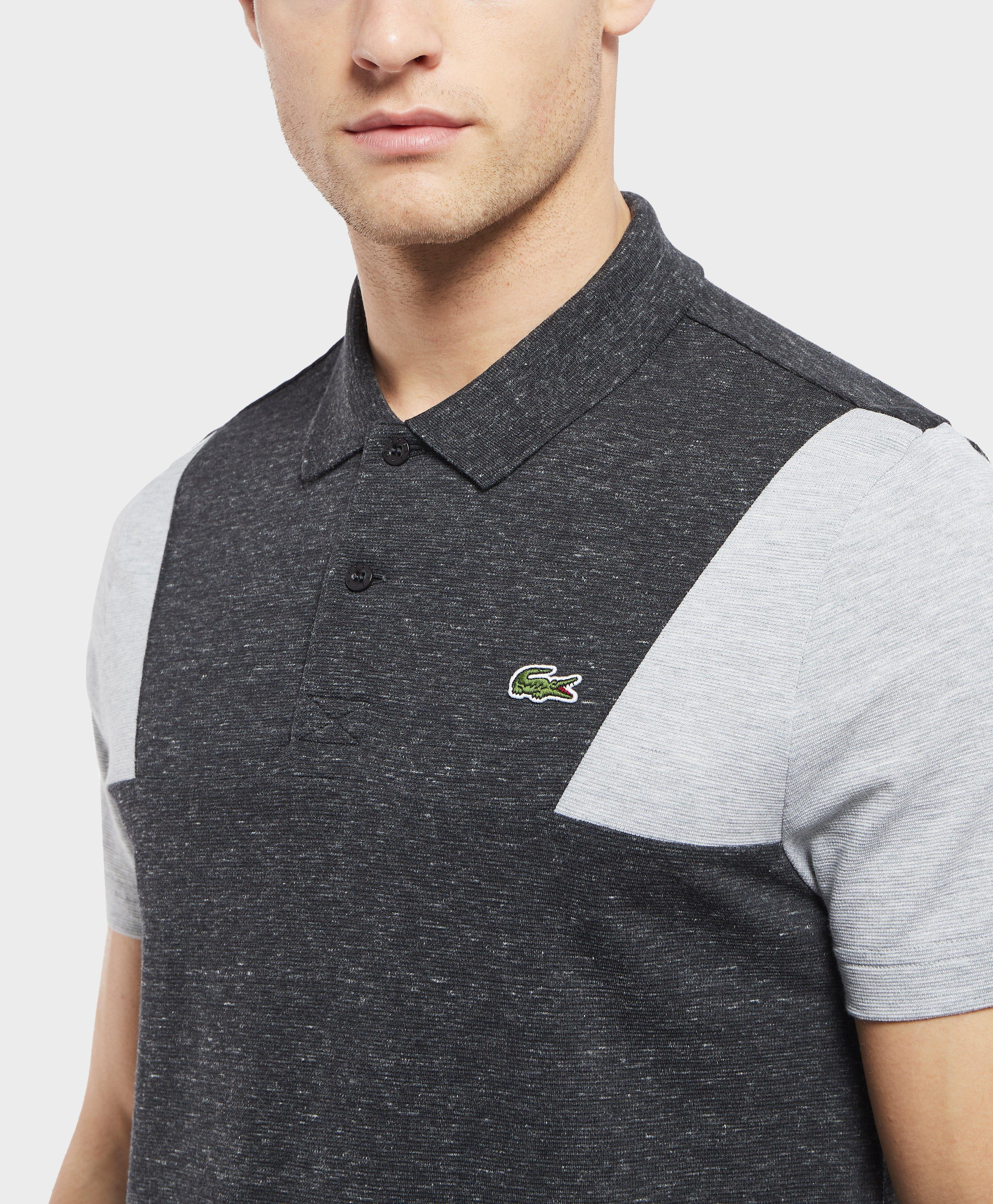94b88b809 Lacoste - Multicolor Retro Panel Short Sleeve Polo Shirt for Men - Lyst.  View fullscreen
