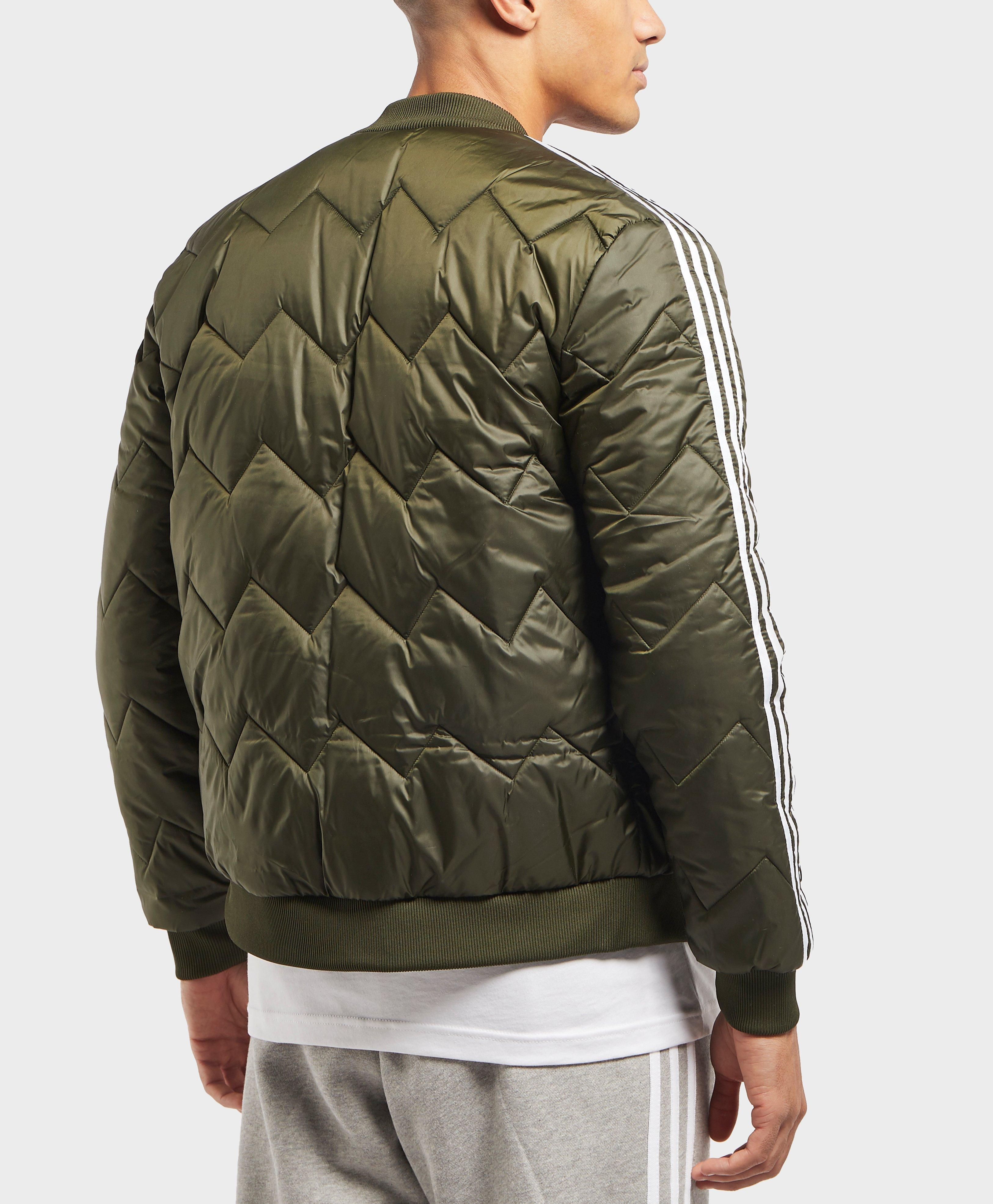 Green Originals Sst Adidas Jacket In For Bomber Men Quilted Lyst UYddqw1