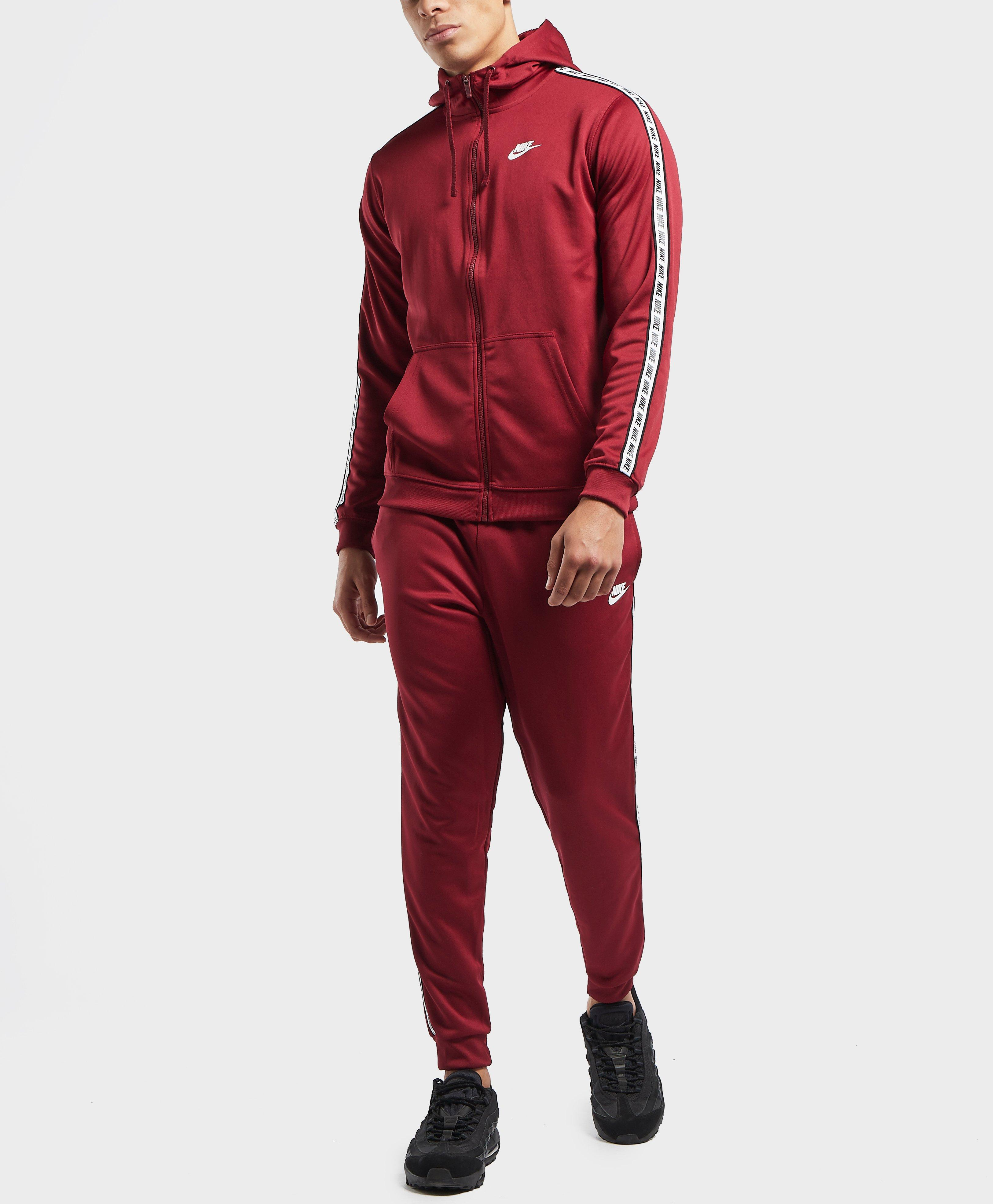 db042df88be Lyst - Nike Gel Tape Cuffed Track Pants in Red for Men